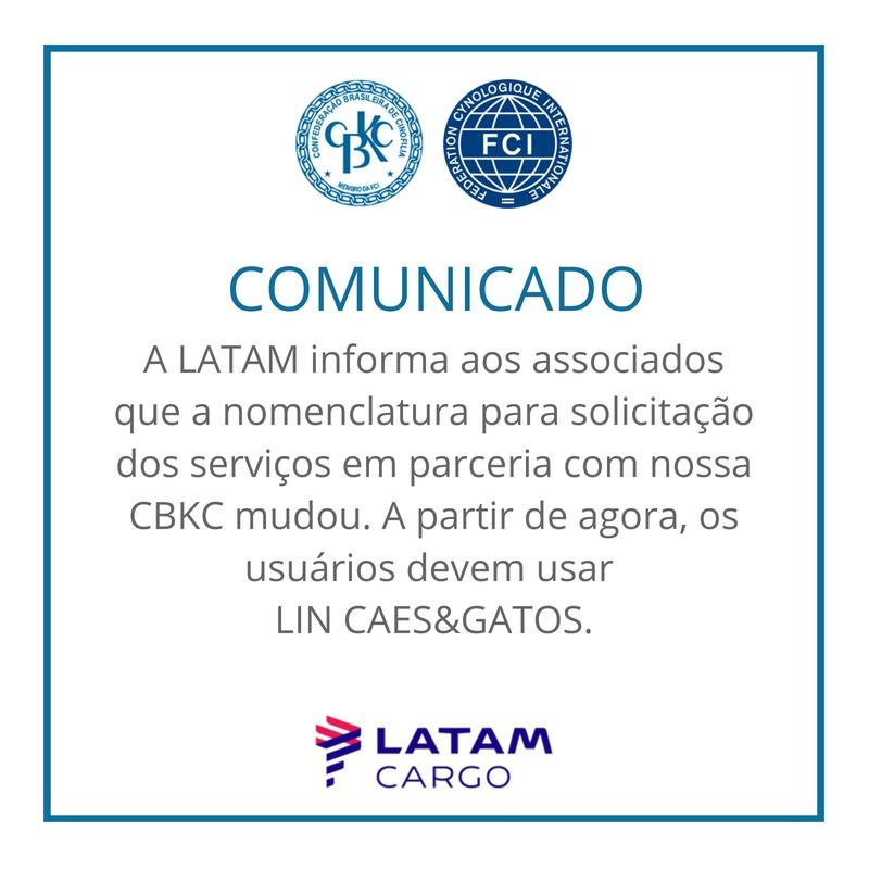 Comunicado CBKC: CBKC - LATAM