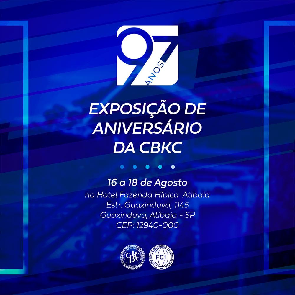 Exposição CBKC 2019 - 97 anos