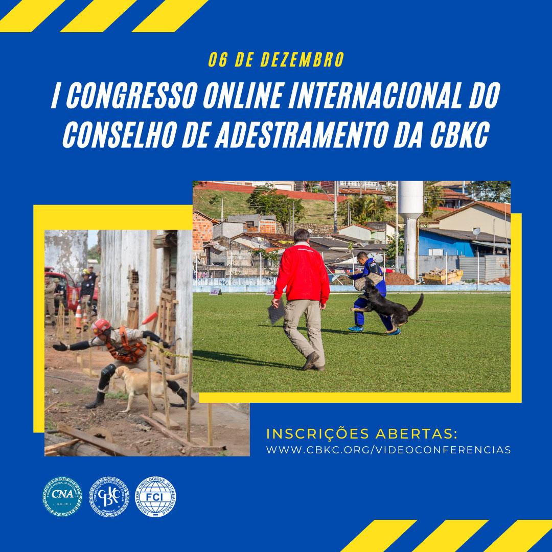 Congresso de Adestramento CBKC - Faça sua inscrição