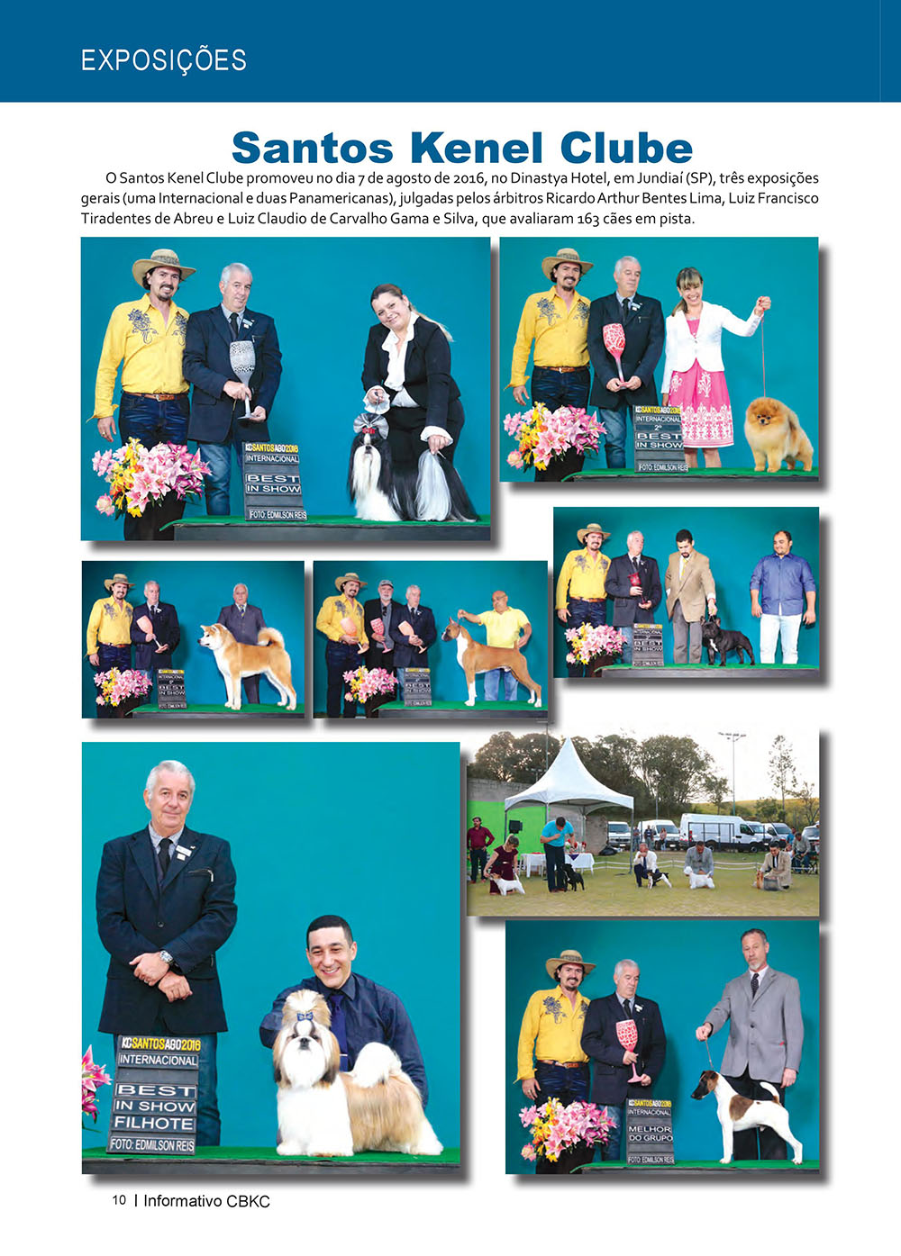 Pagina 10  Edição 53 do Informativo CBKC