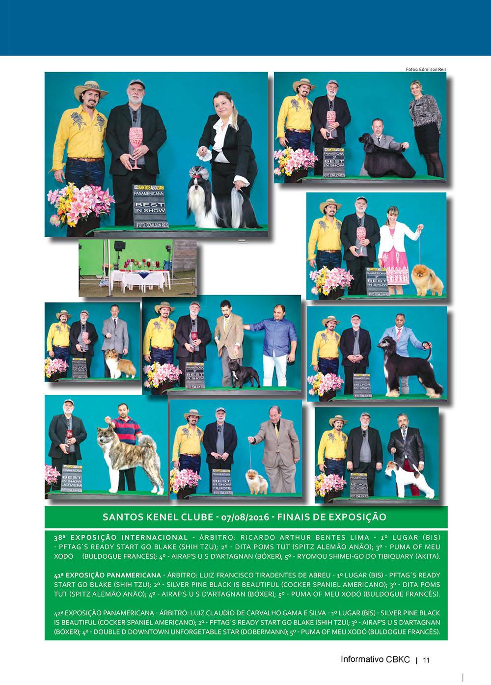 Pagina 11  Edição 53 do Informativo CBKC