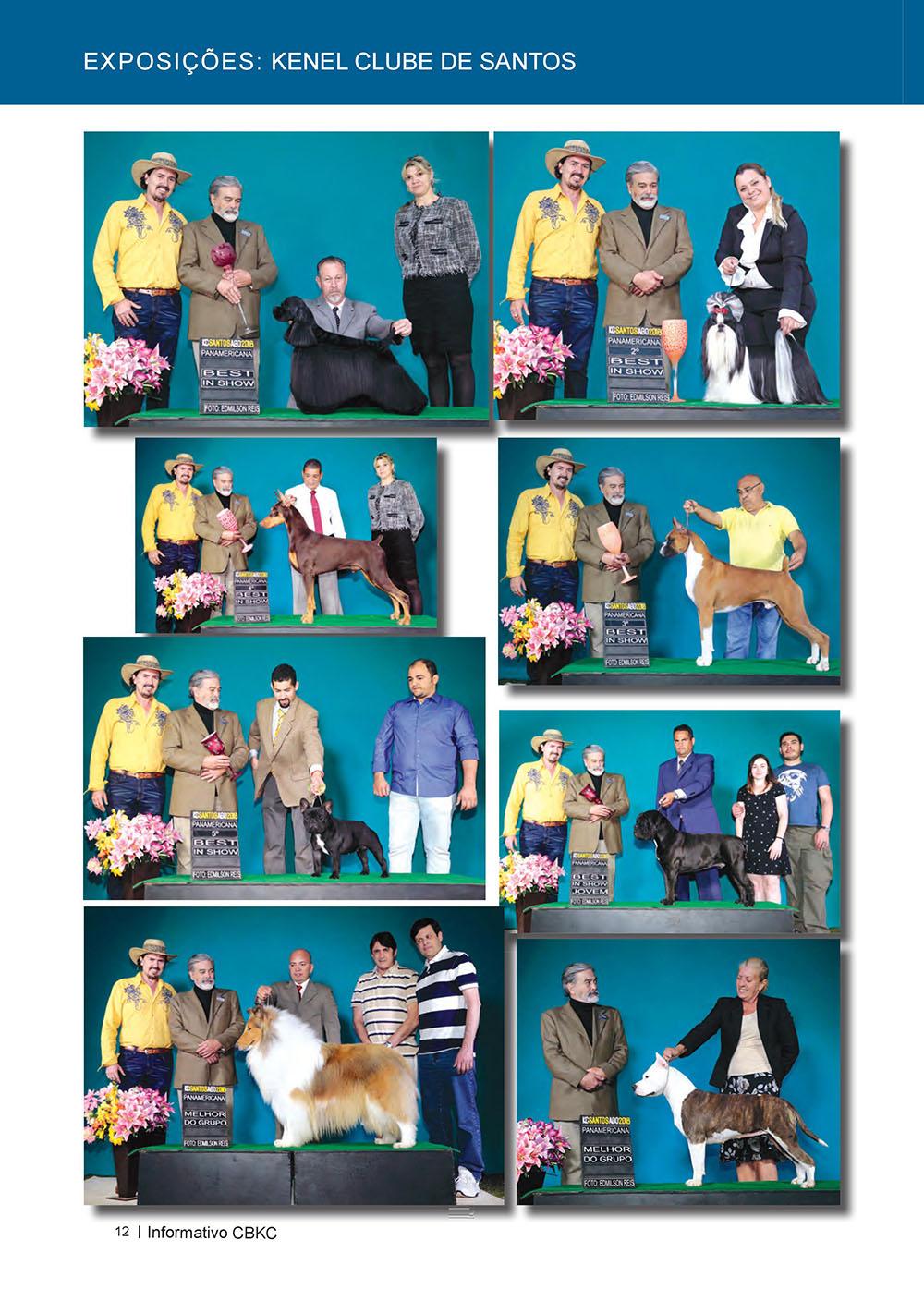 Pagina 12  Edição 53 do Informativo CBKC