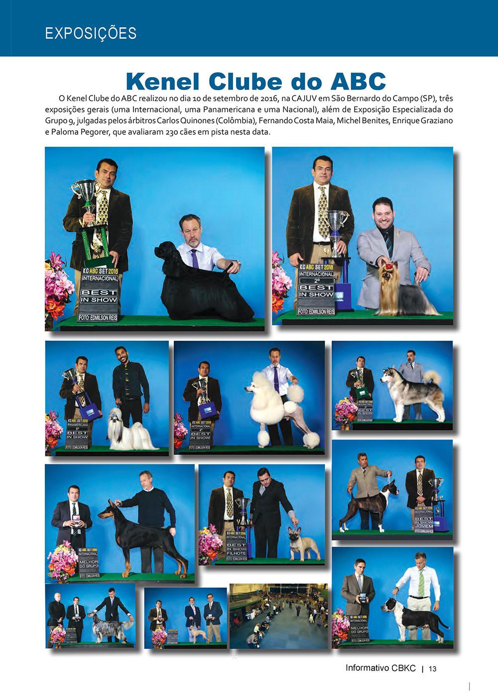 Pagina 13  Edição 53 do Informativo CBKC