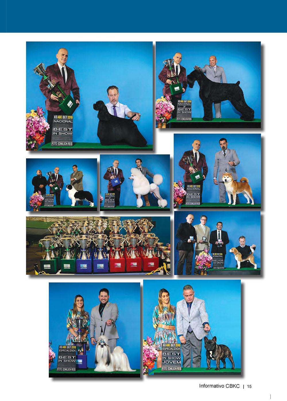 Pagina 15  Edição 53 do Informativo CBKC