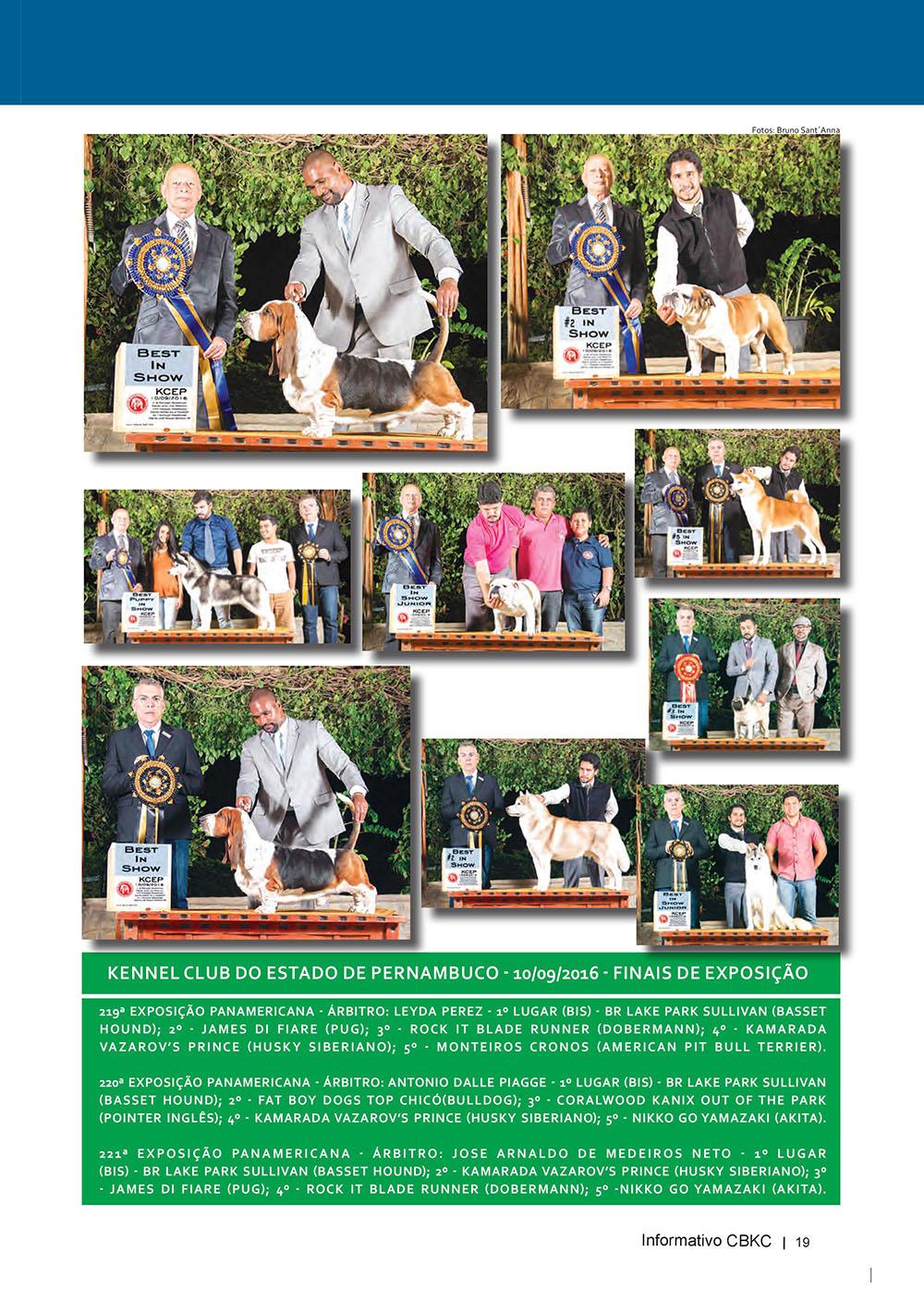Pagina 19  Edição 53 do Informativo CBKC