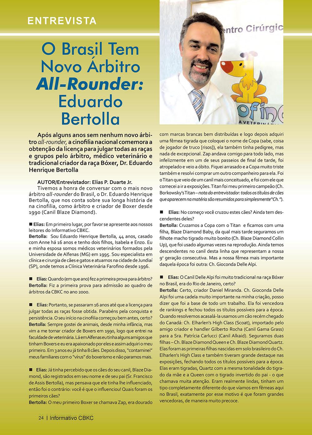 Pagina 24  Edição 53 do Informativo CBKC
