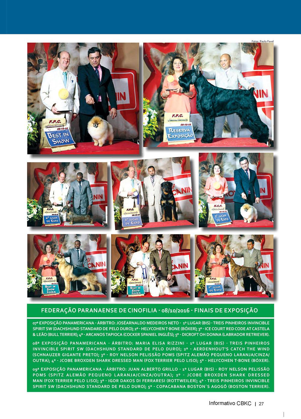 Pagina 27  Edição 53 do Informativo CBKC