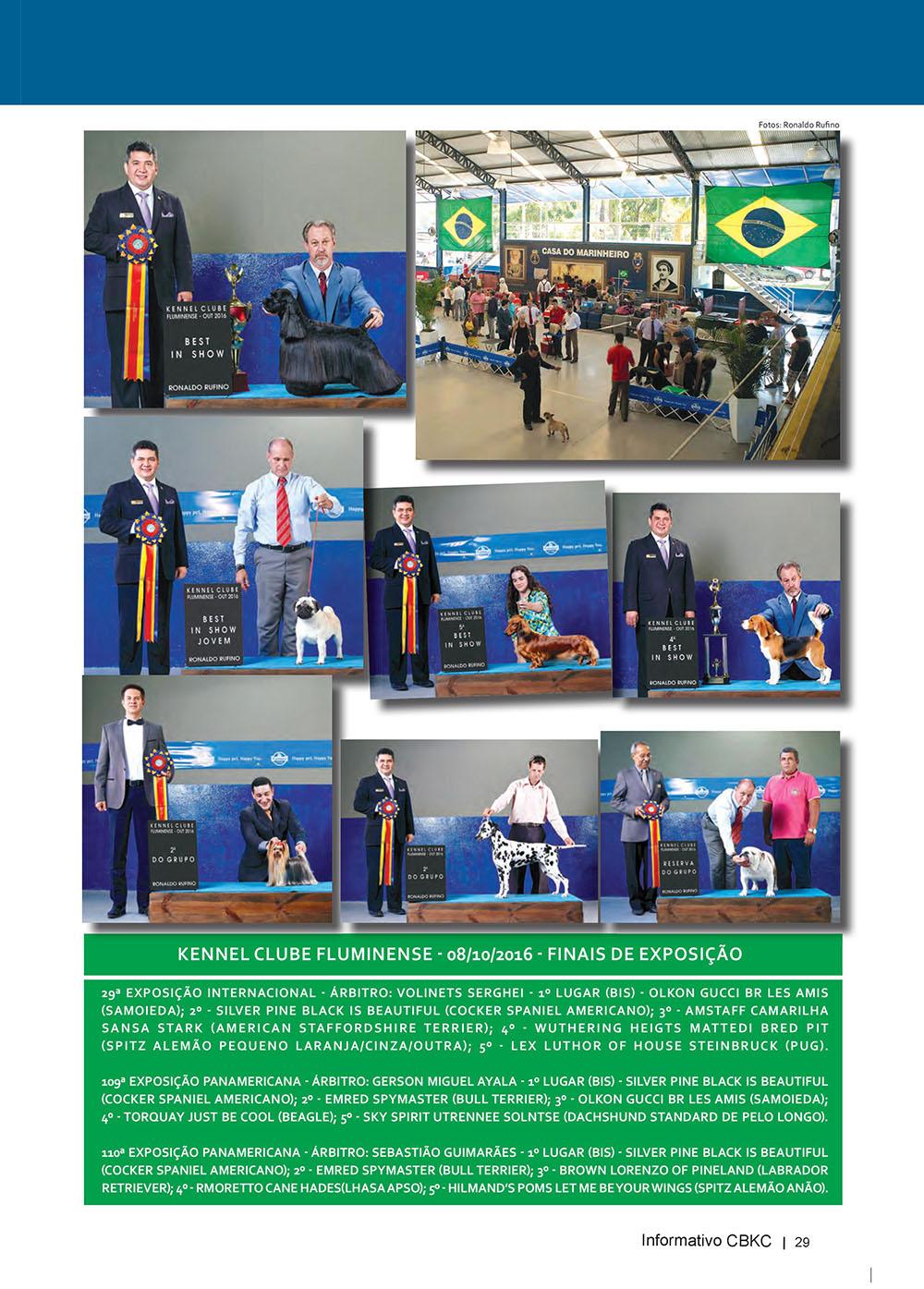 Pagina 29  Edição 53 do Informativo CBKC