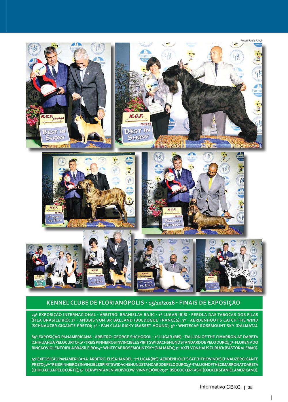 Pagina 35  Edição 53 do Informativo CBKC