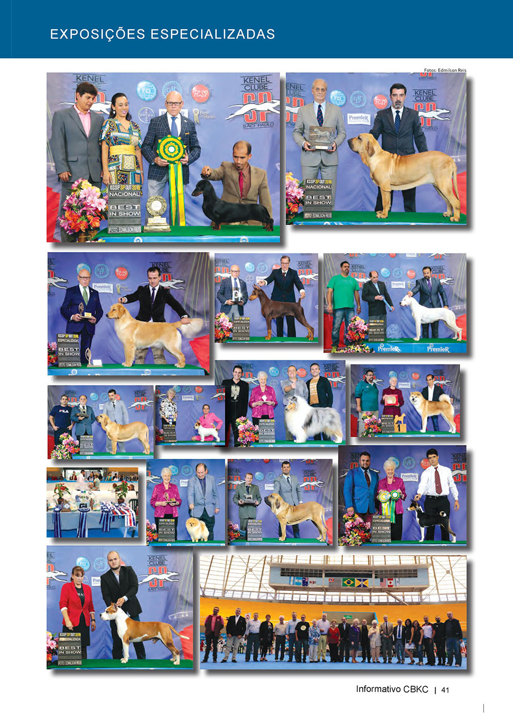 Pagina 41  Edição 53 do Informativo CBKC