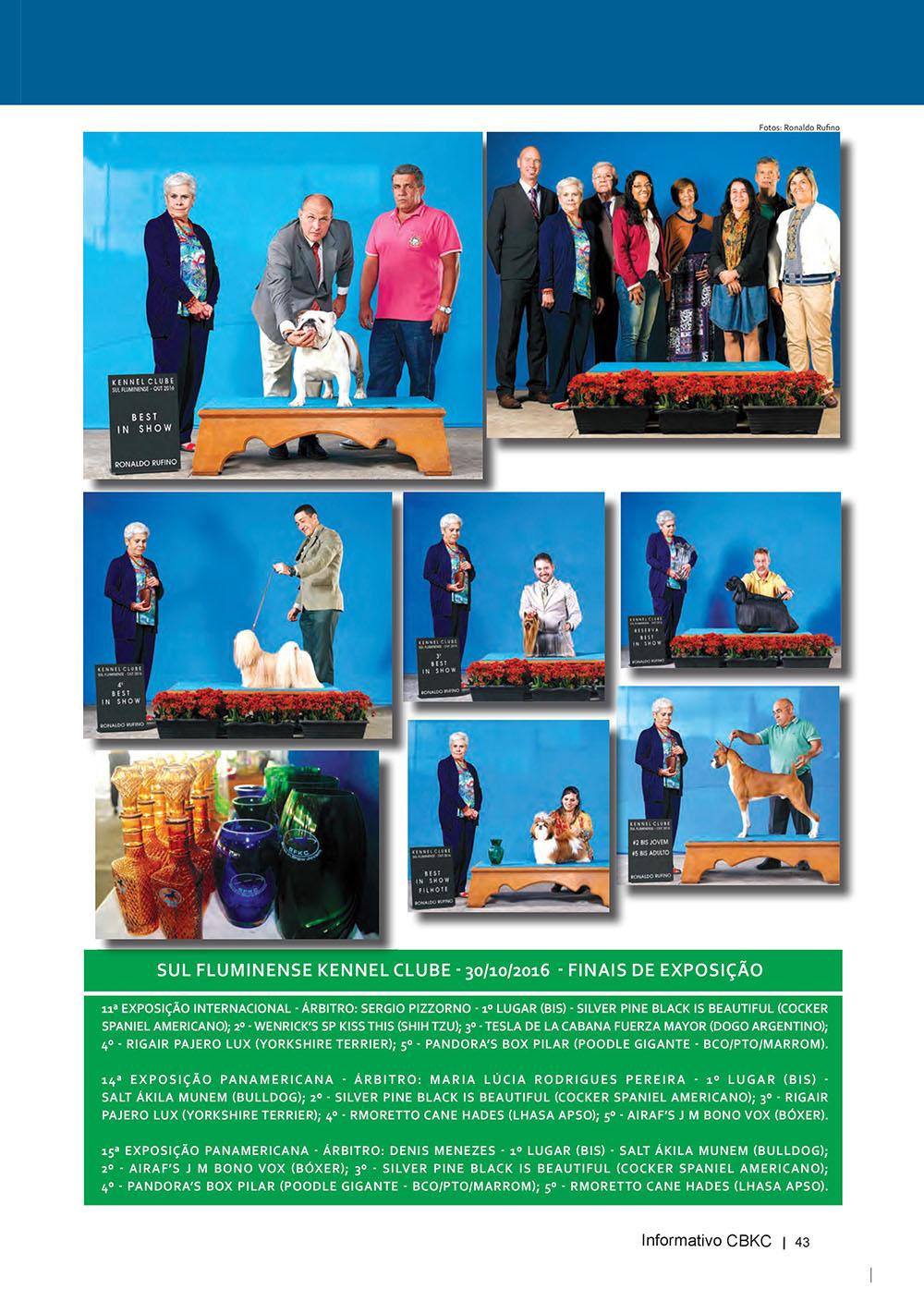 Pagina 43  Edição 53 do Informativo CBKC