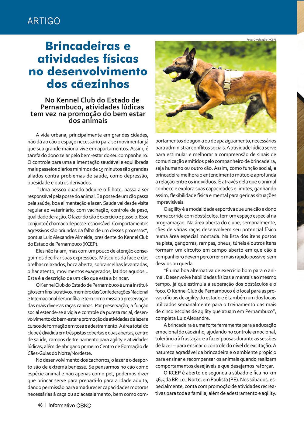 Pagina 48  Edição 53 do Informativo CBKC