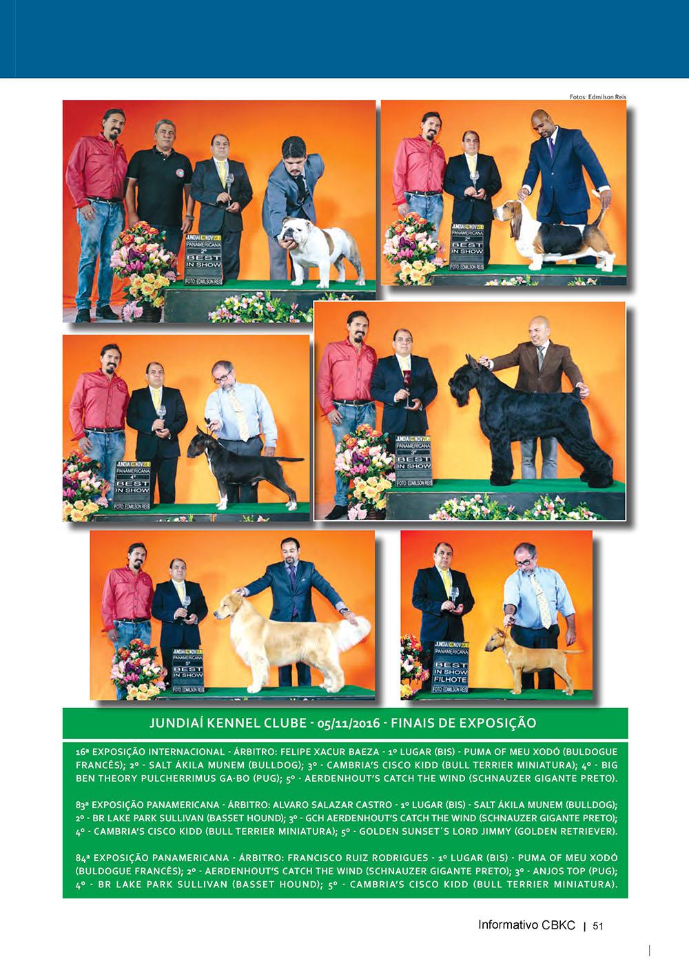 Pagina 51  Edição 53 do Informativo CBKC