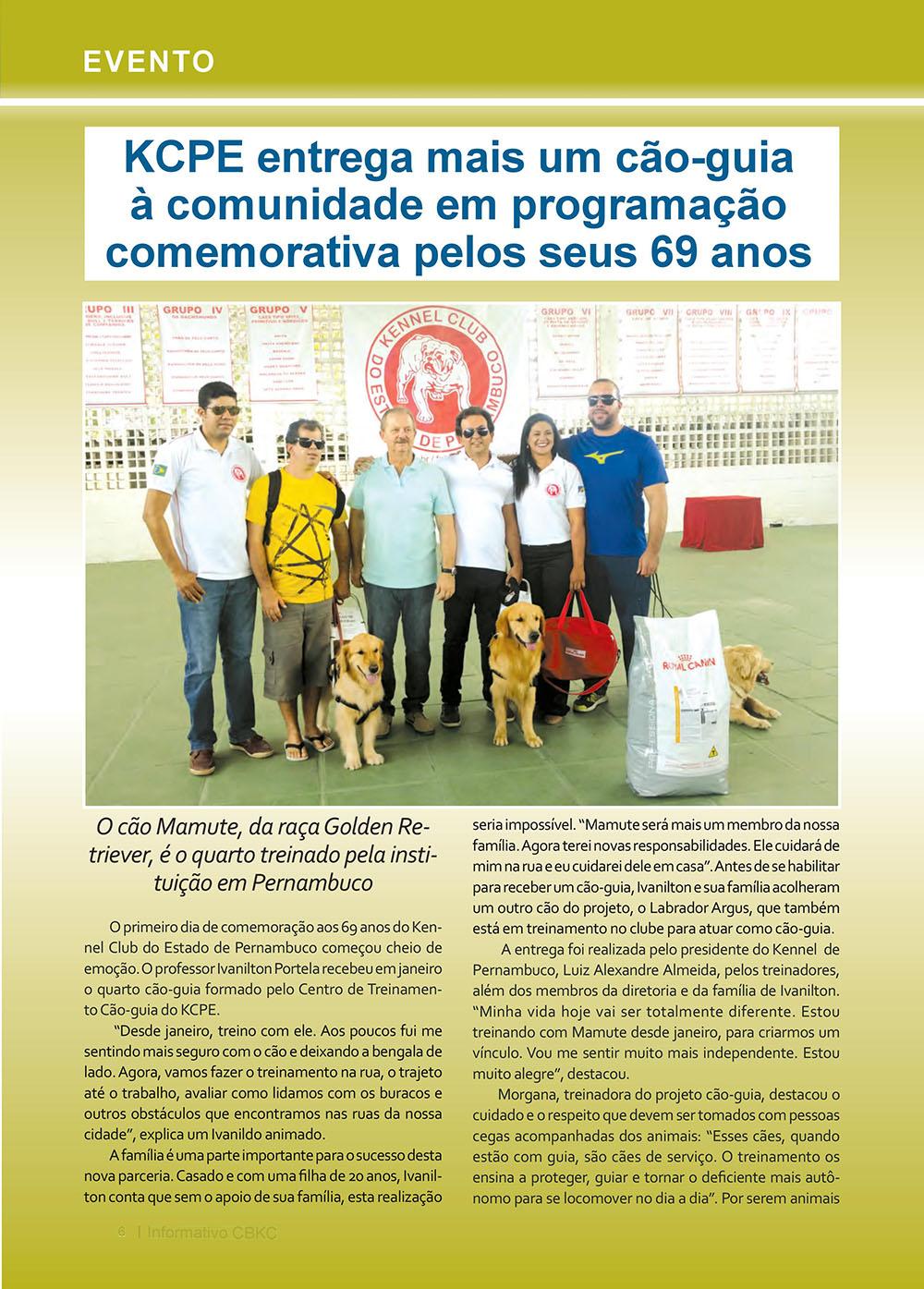 Pagina 6  Edição 53 do Informativo CBKC