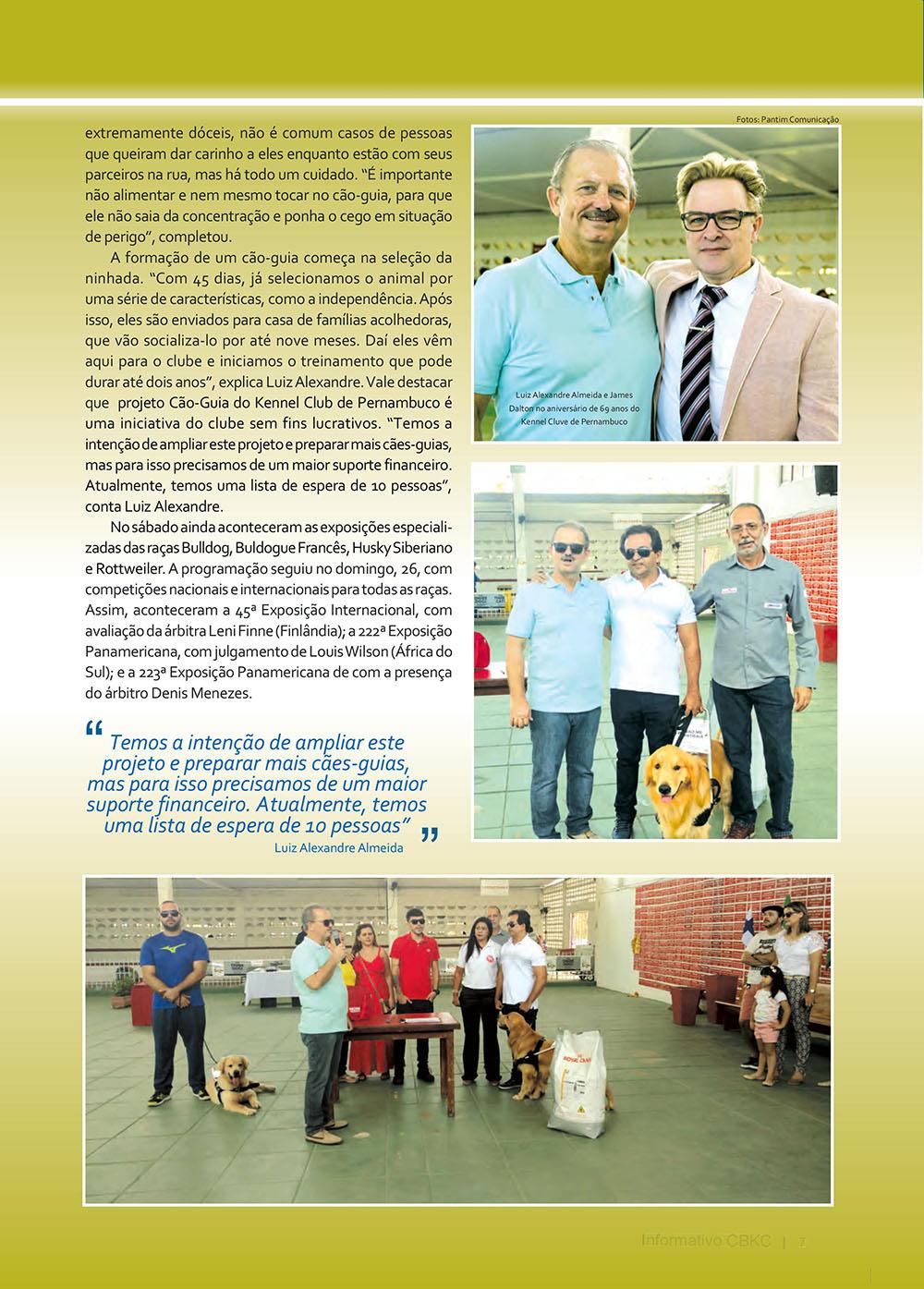 Pagina 7  Edição 53 do Informativo CBKC