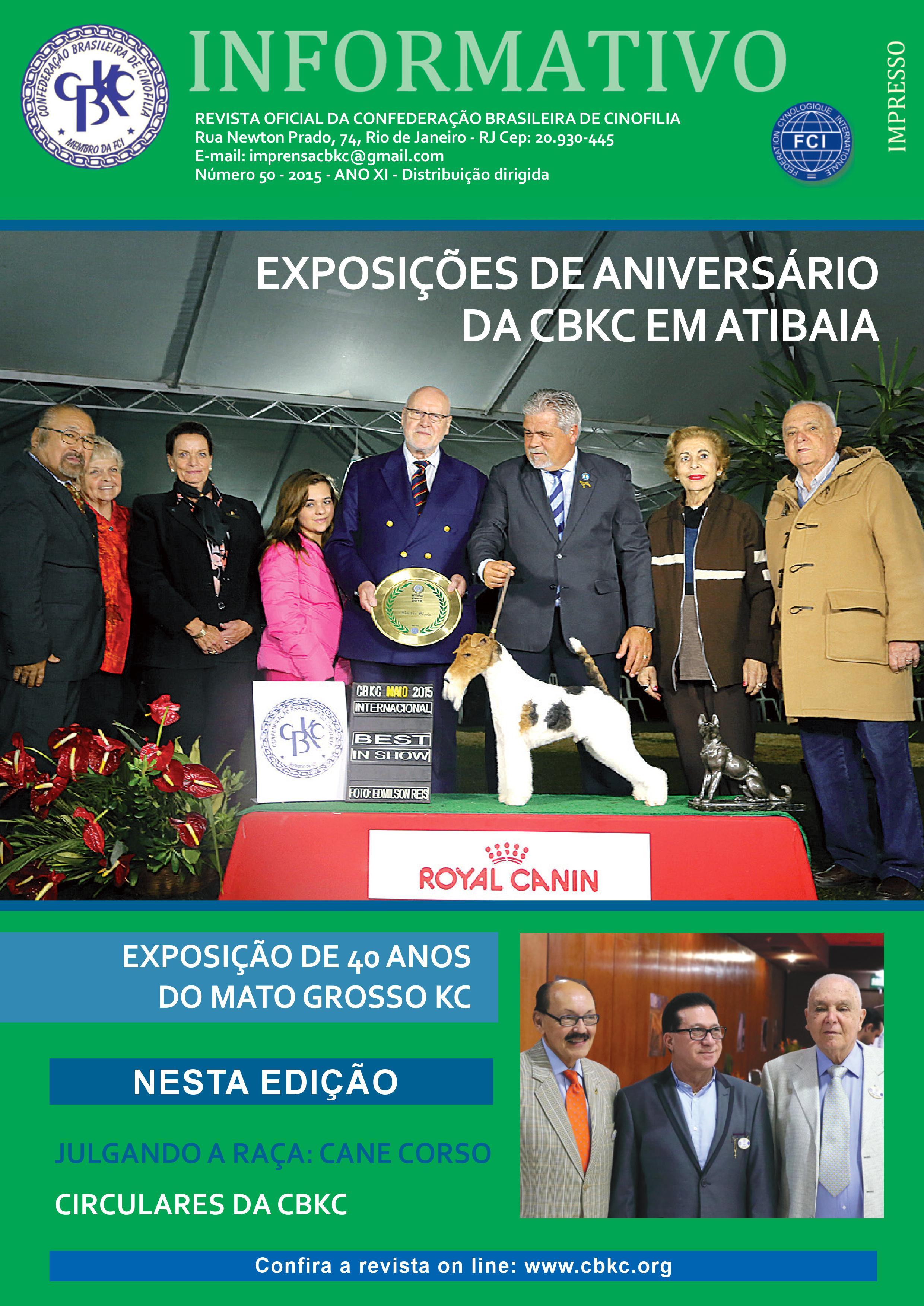 Informativo CBKC Edição 50