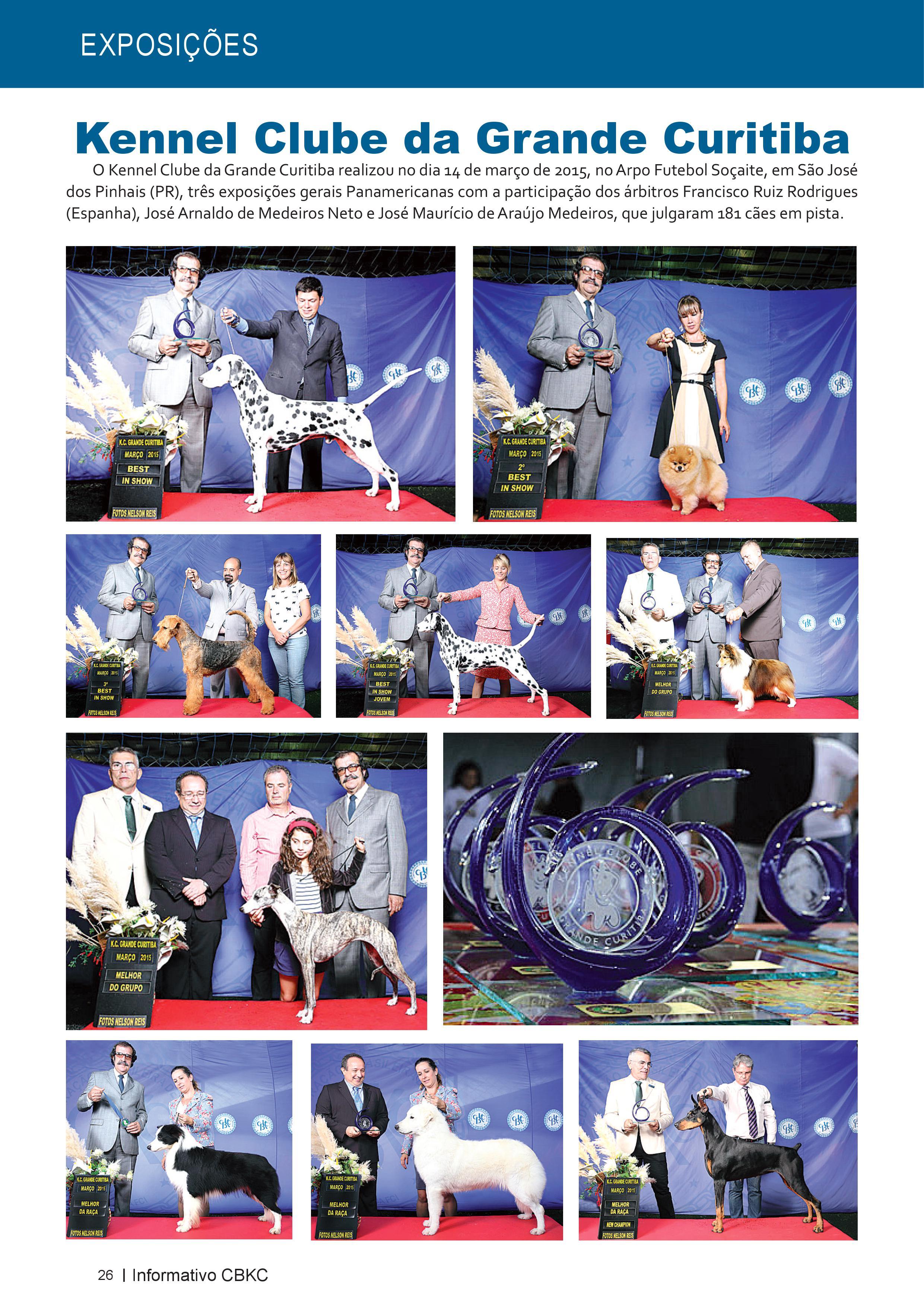 Pagina 26| Edição 50 do Informativo CBKC
