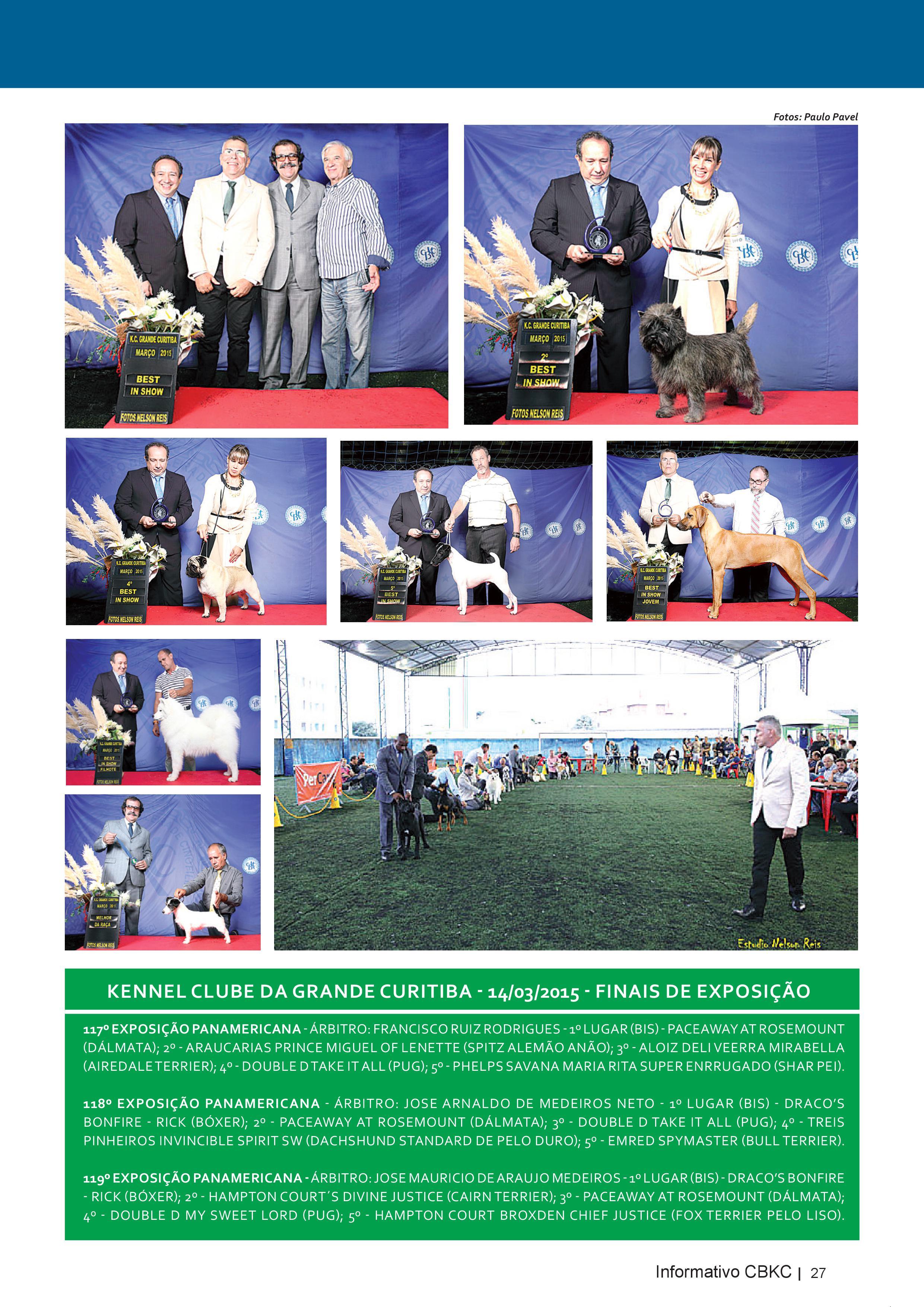 Pagina 27| Edição 50 do Informativo CBKC