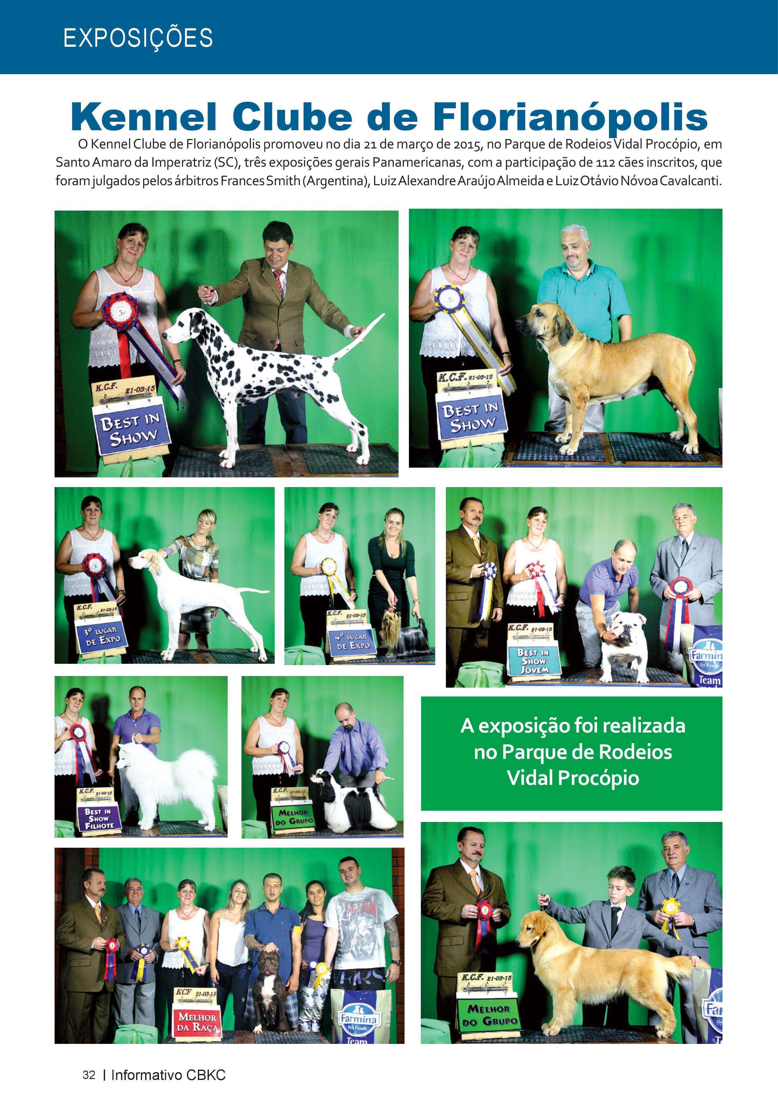 Pagina 32| Edição 50 do Informativo CBKC