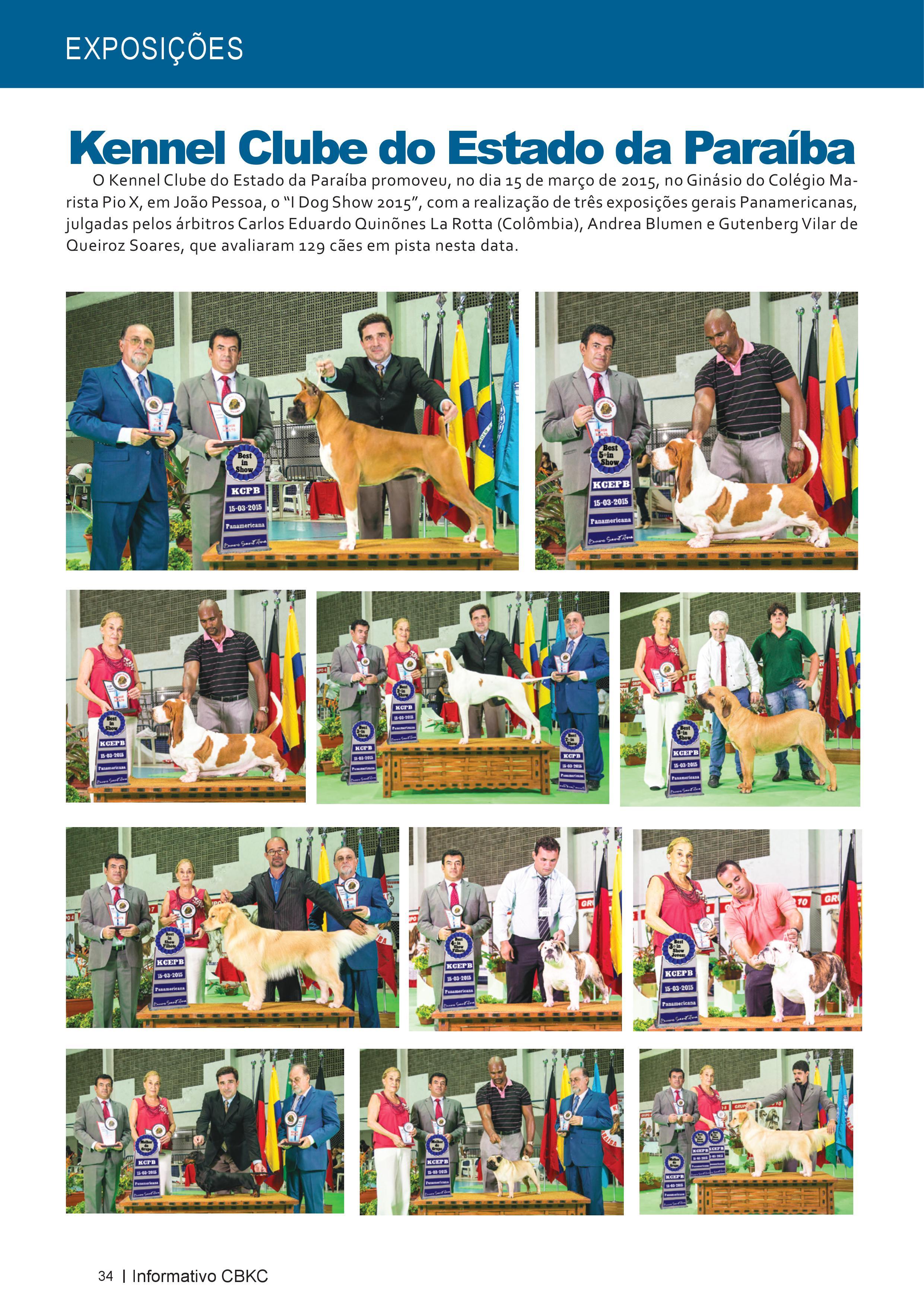 Pagina 34| Edição 50 do Informativo CBKC