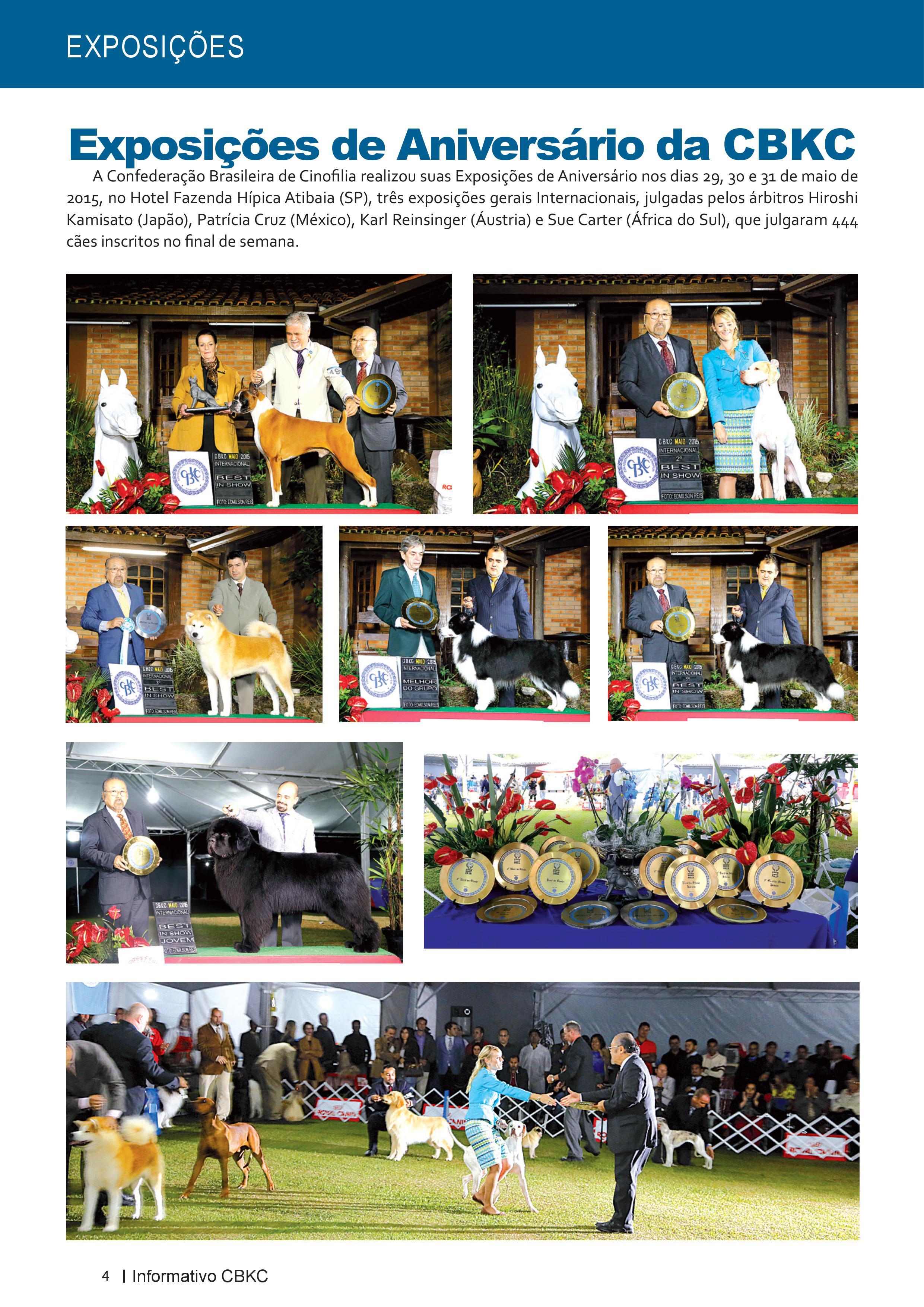 Pagina 4| Edição 50 do Informativo CBKC
