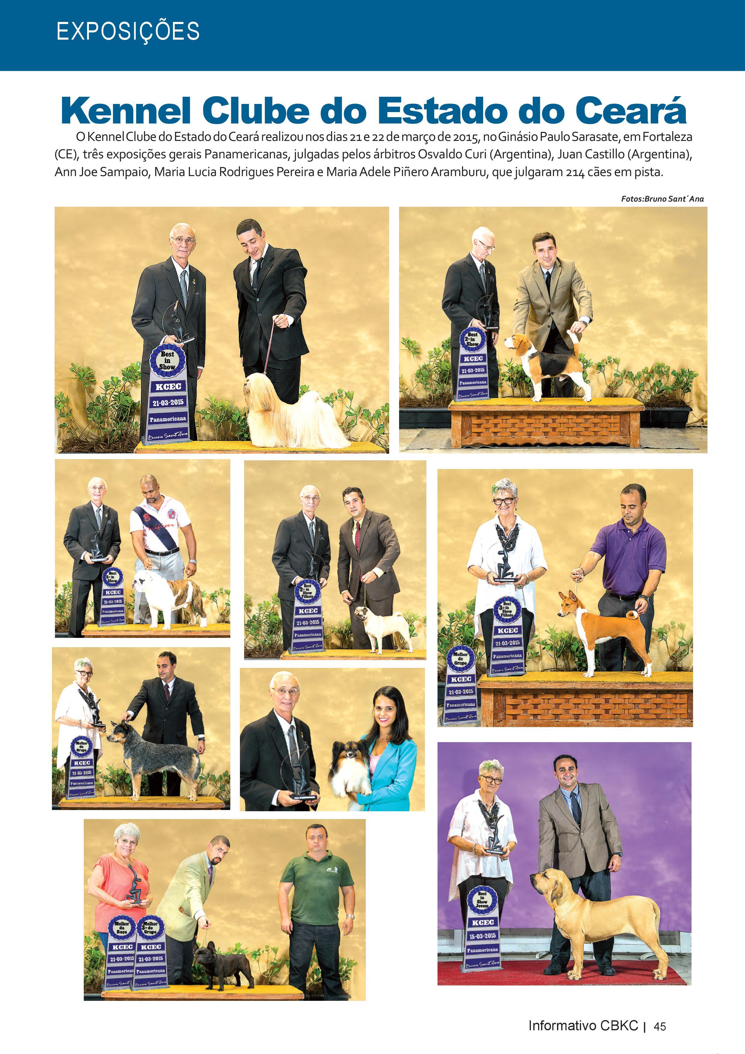Pagina 45| Edição 50 do Informativo CBKC
