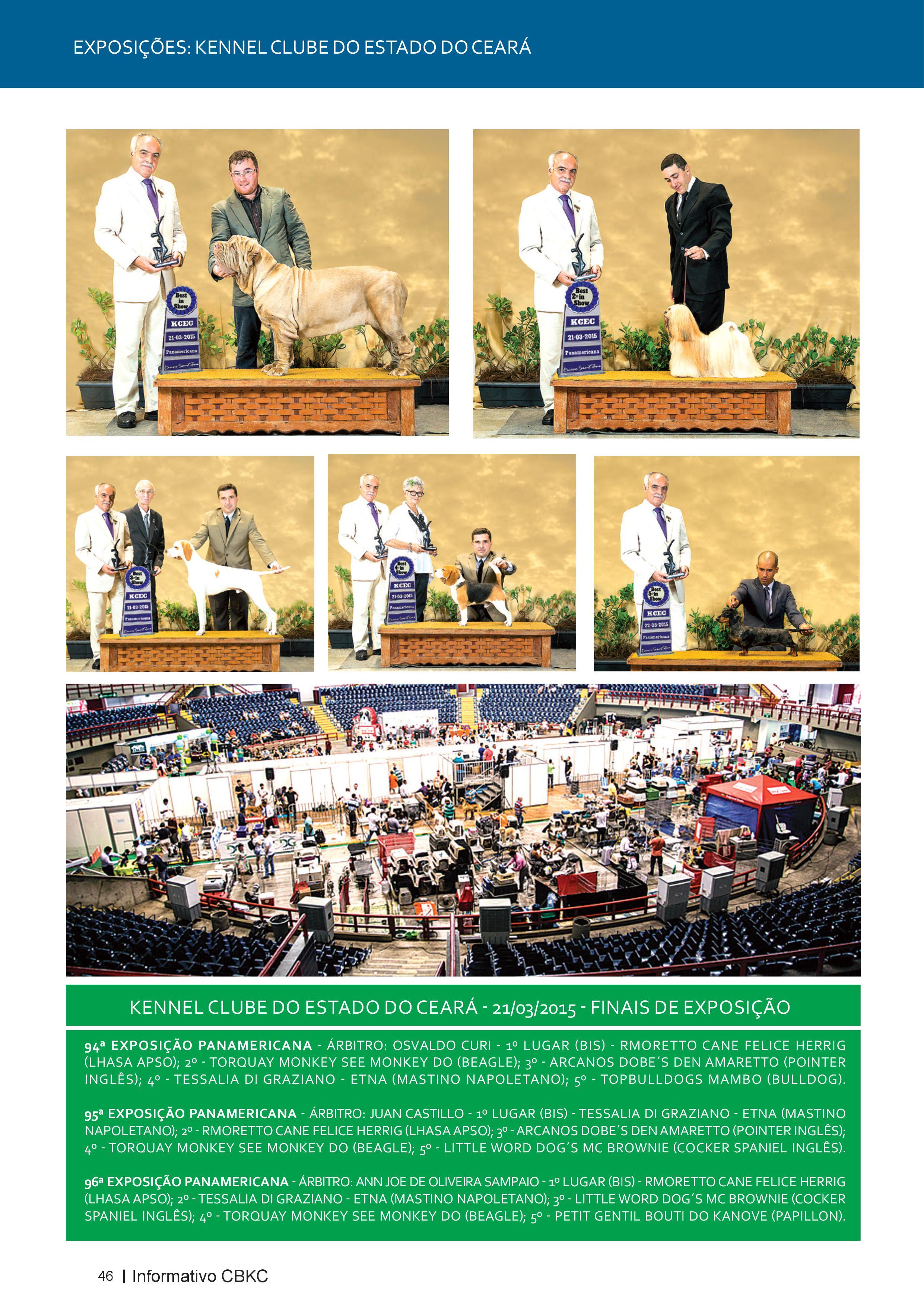 Pagina 46| Edição 50 do Informativo CBKC