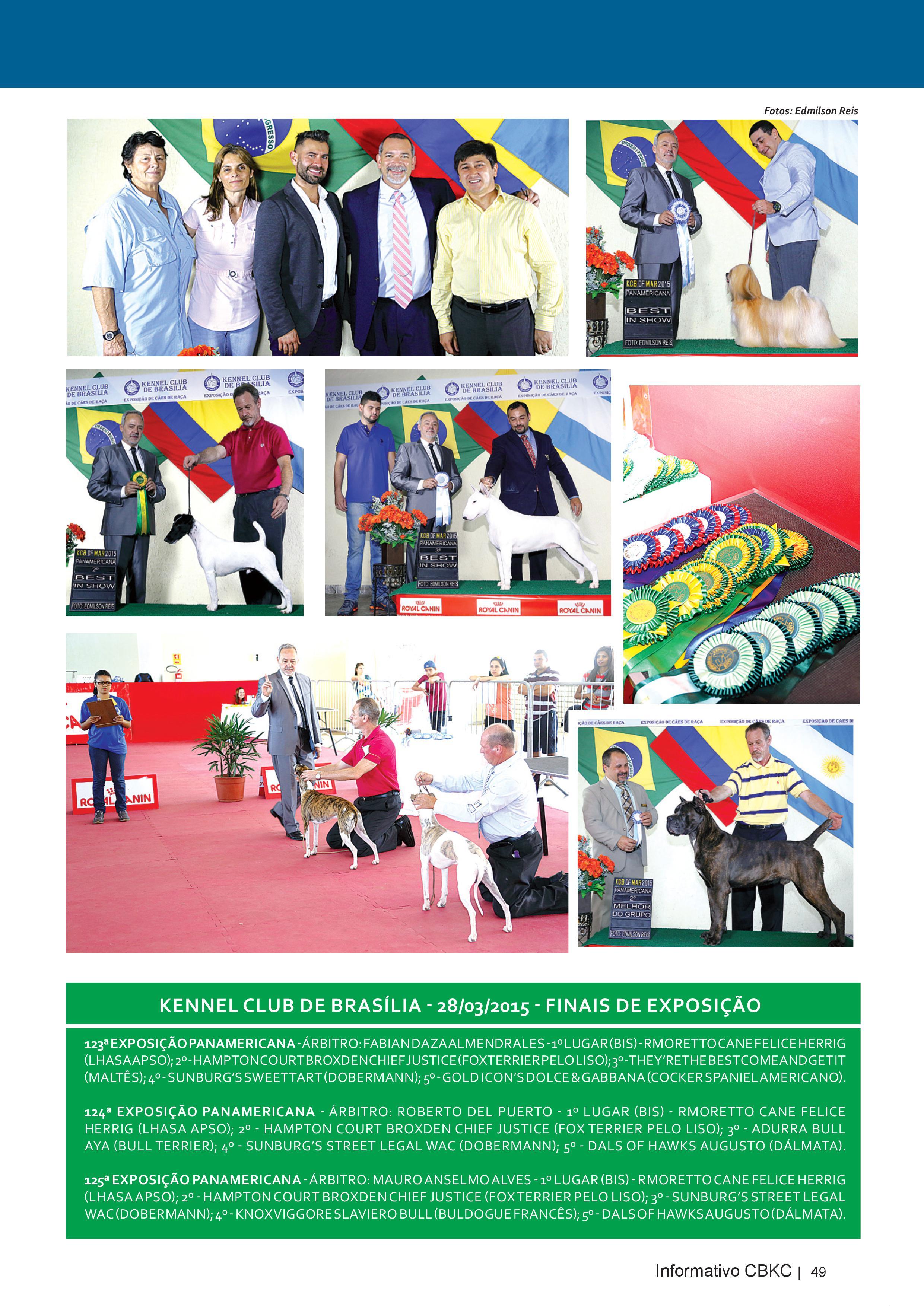 Pagina 49| Edição 50 do Informativo CBKC