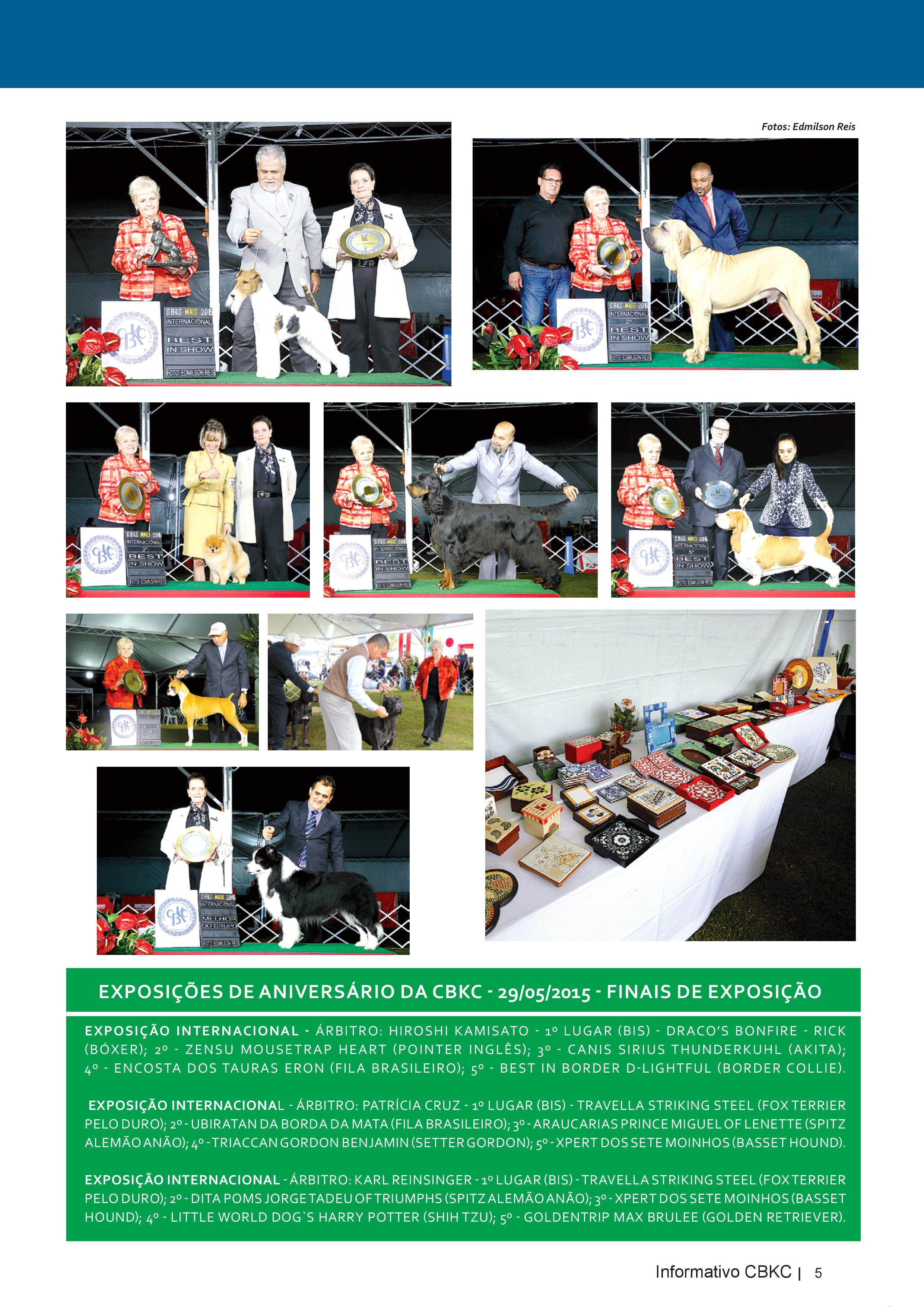 Pagina 5| Edição 50 do Informativo CBKC