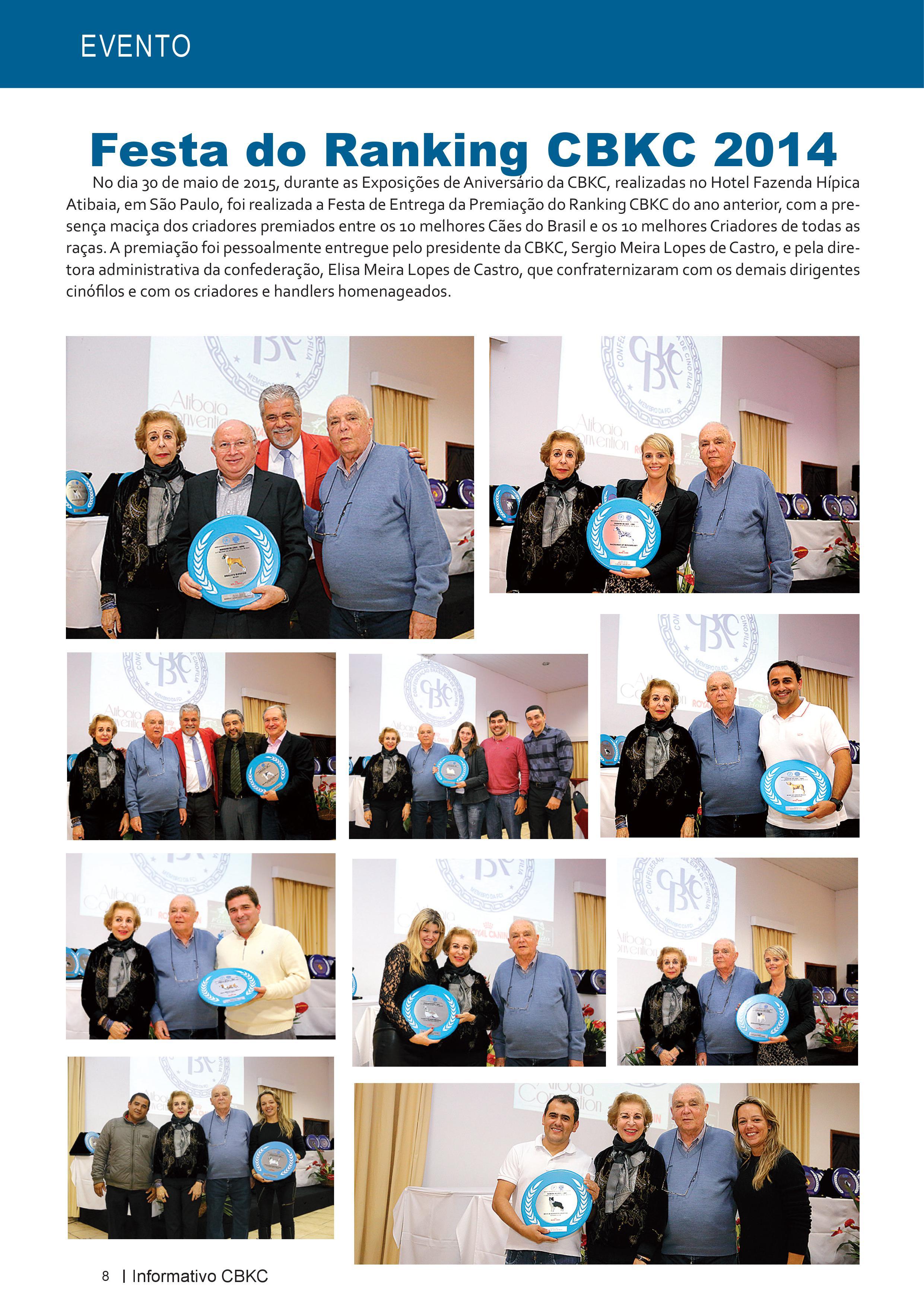 Pagina 8| Edição 50 do Informativo CBKC