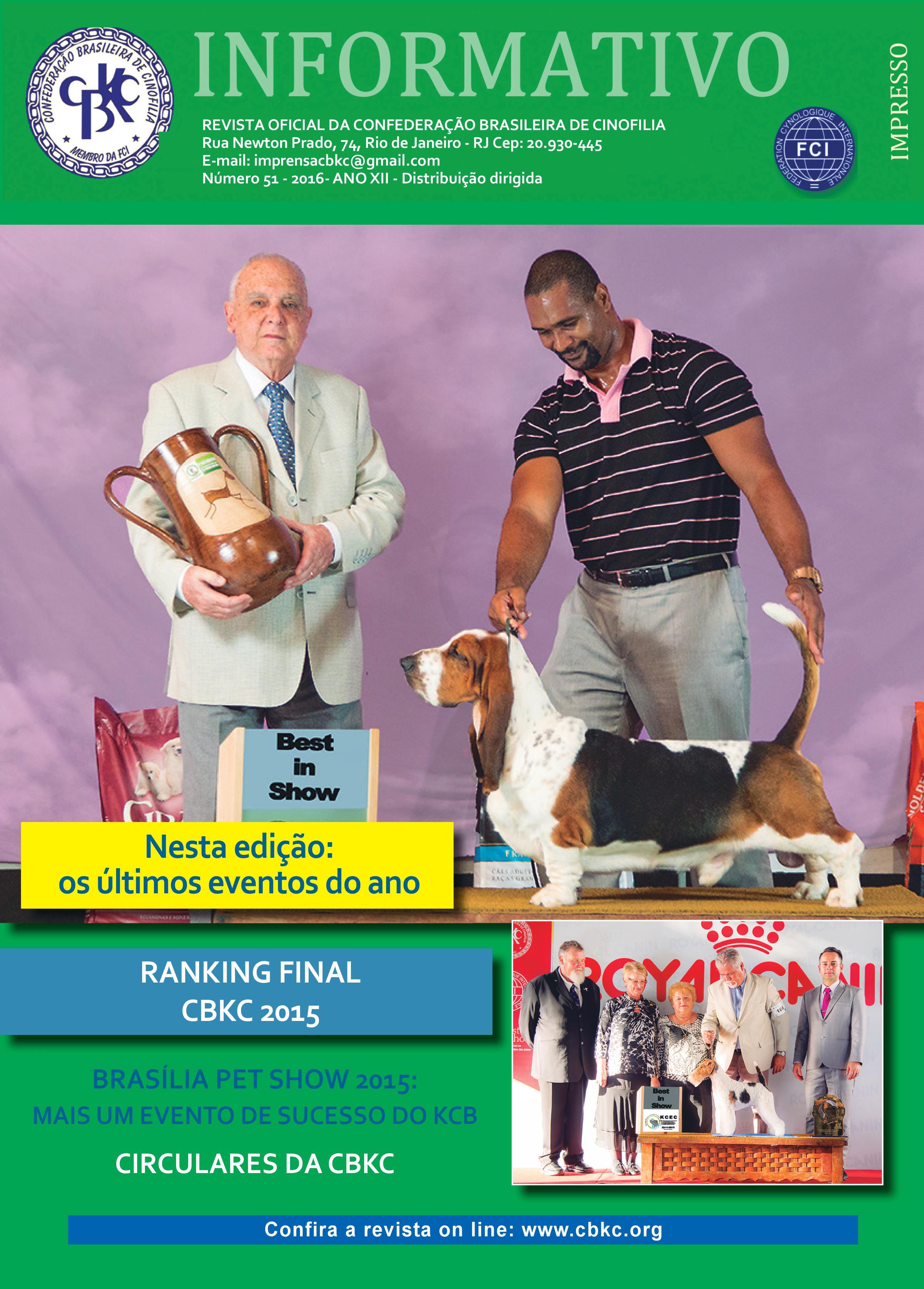 Informativo CBKC Edição 51