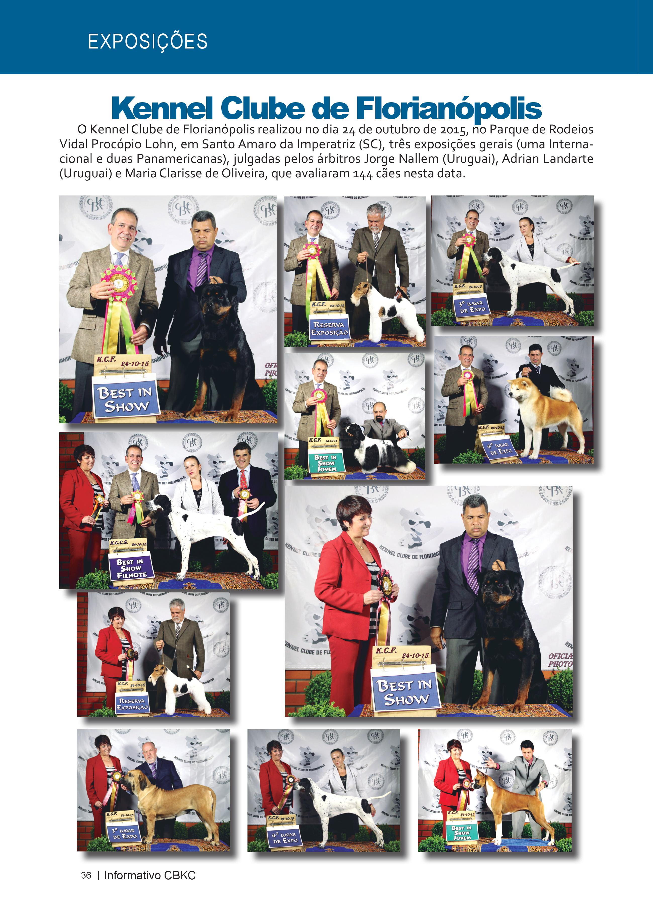 Pagina 36| Edição 51 do Informativo CBKC