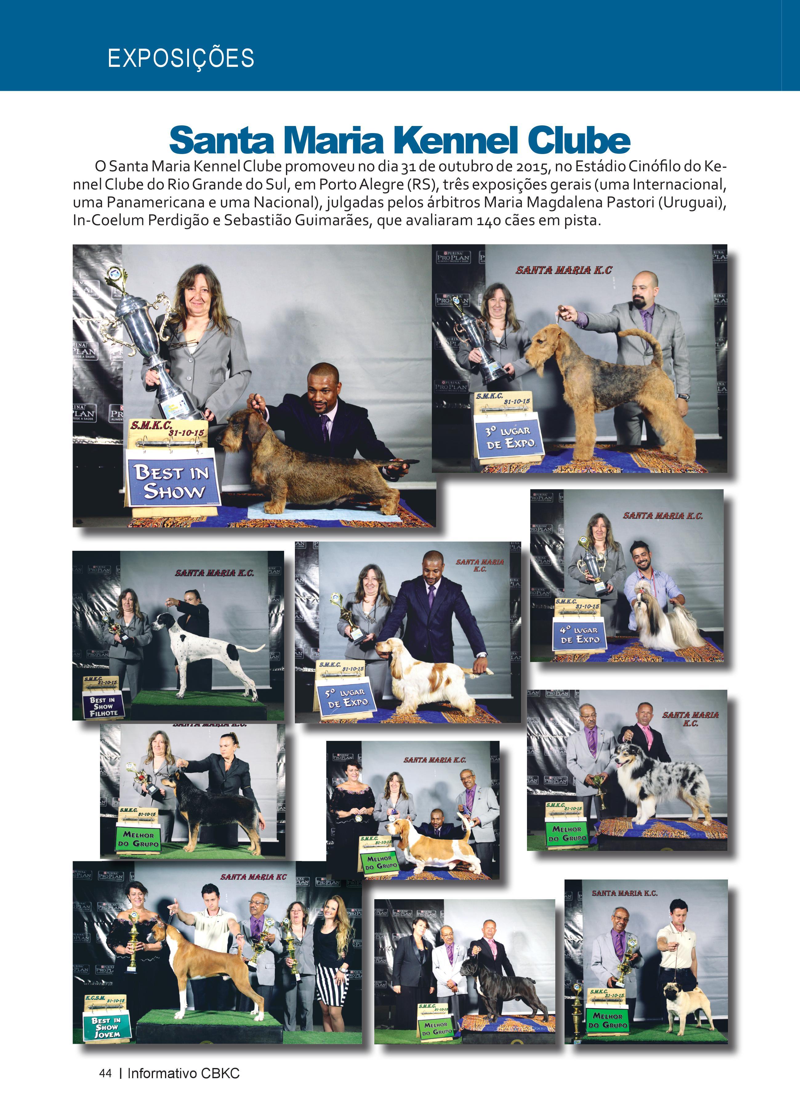 Pagina 44| Edição 51 do Informativo CBKC