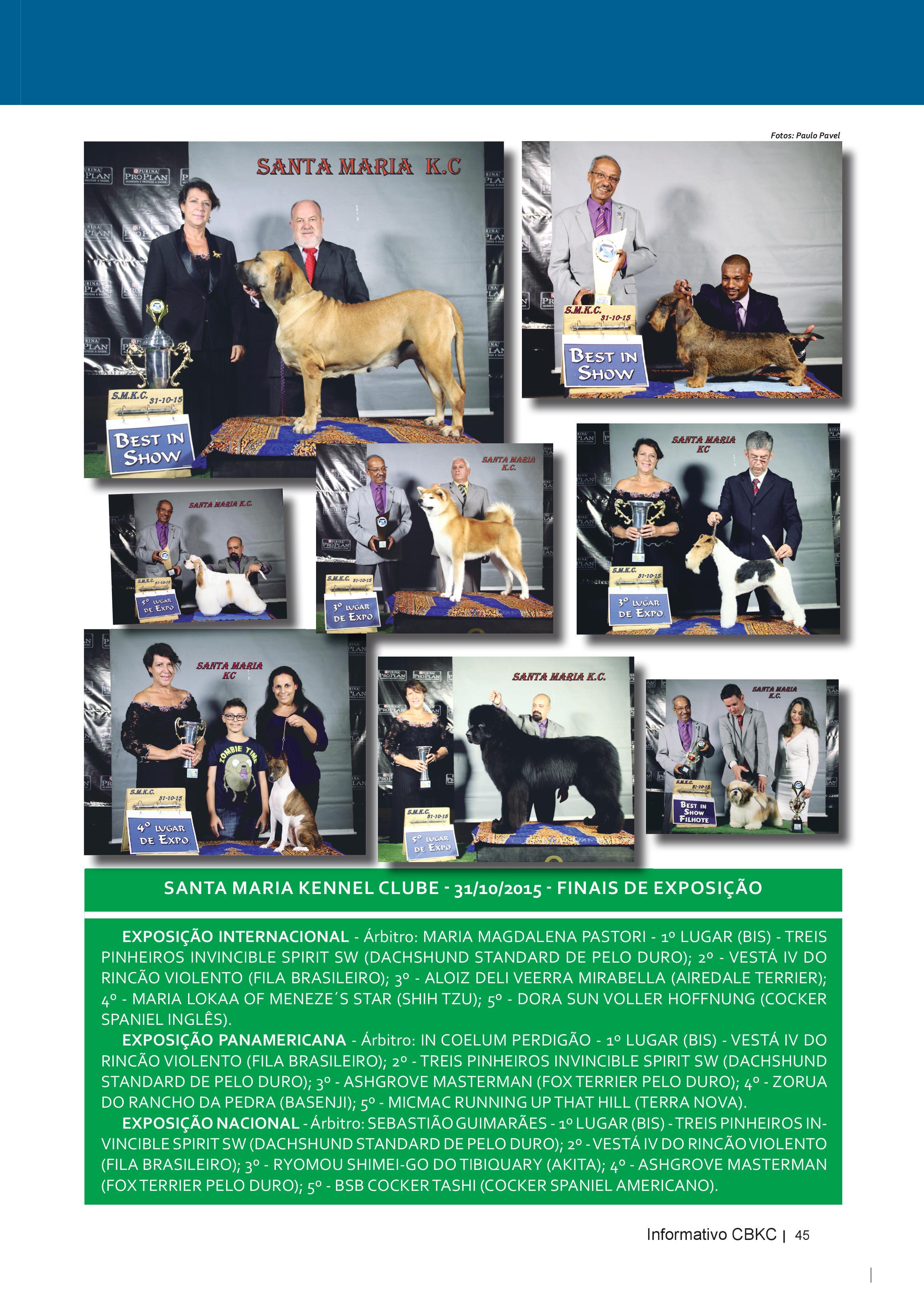 Pagina 45| Edição 51 do Informativo CBKC
