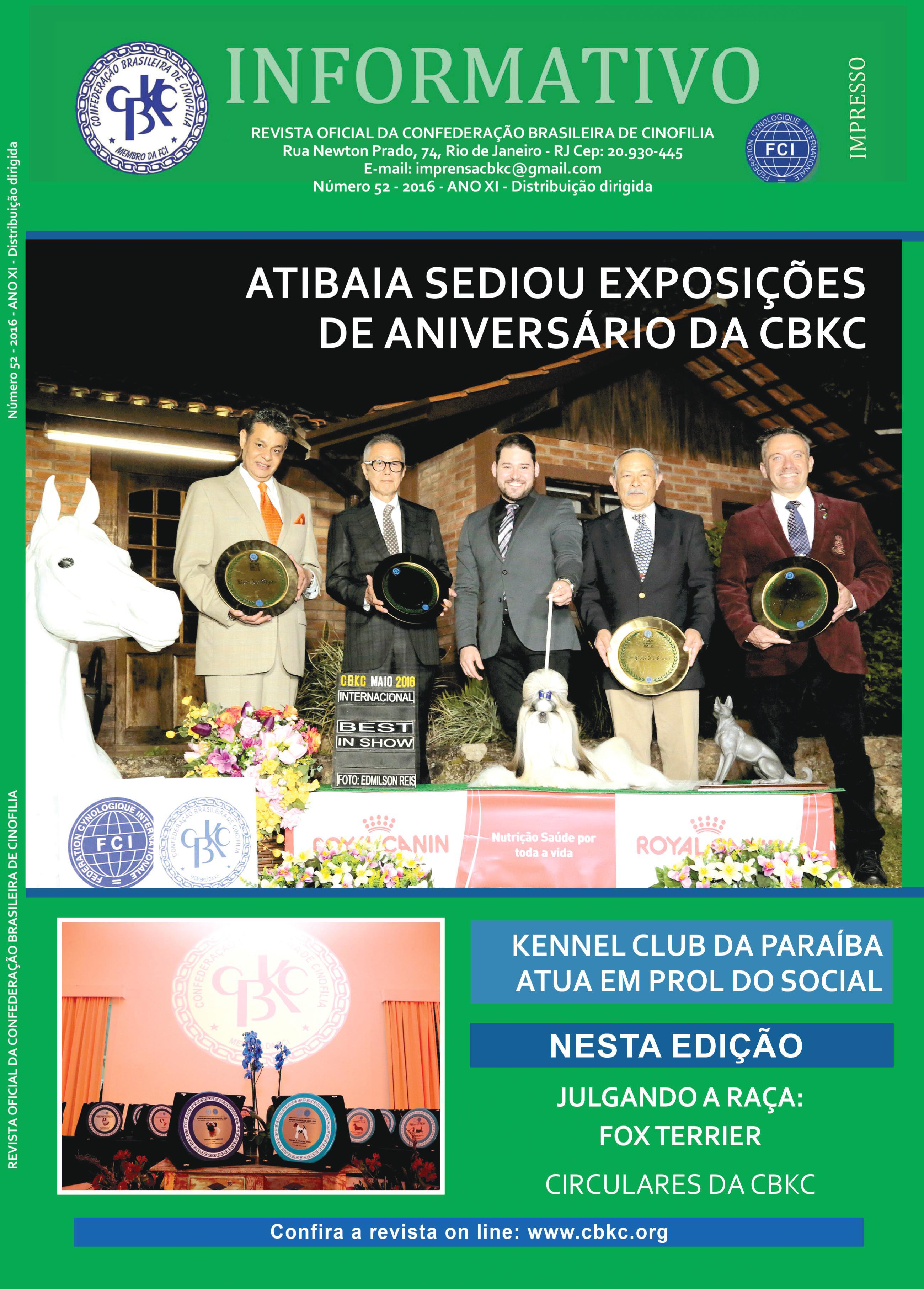 Informativo CBKC Edição 52