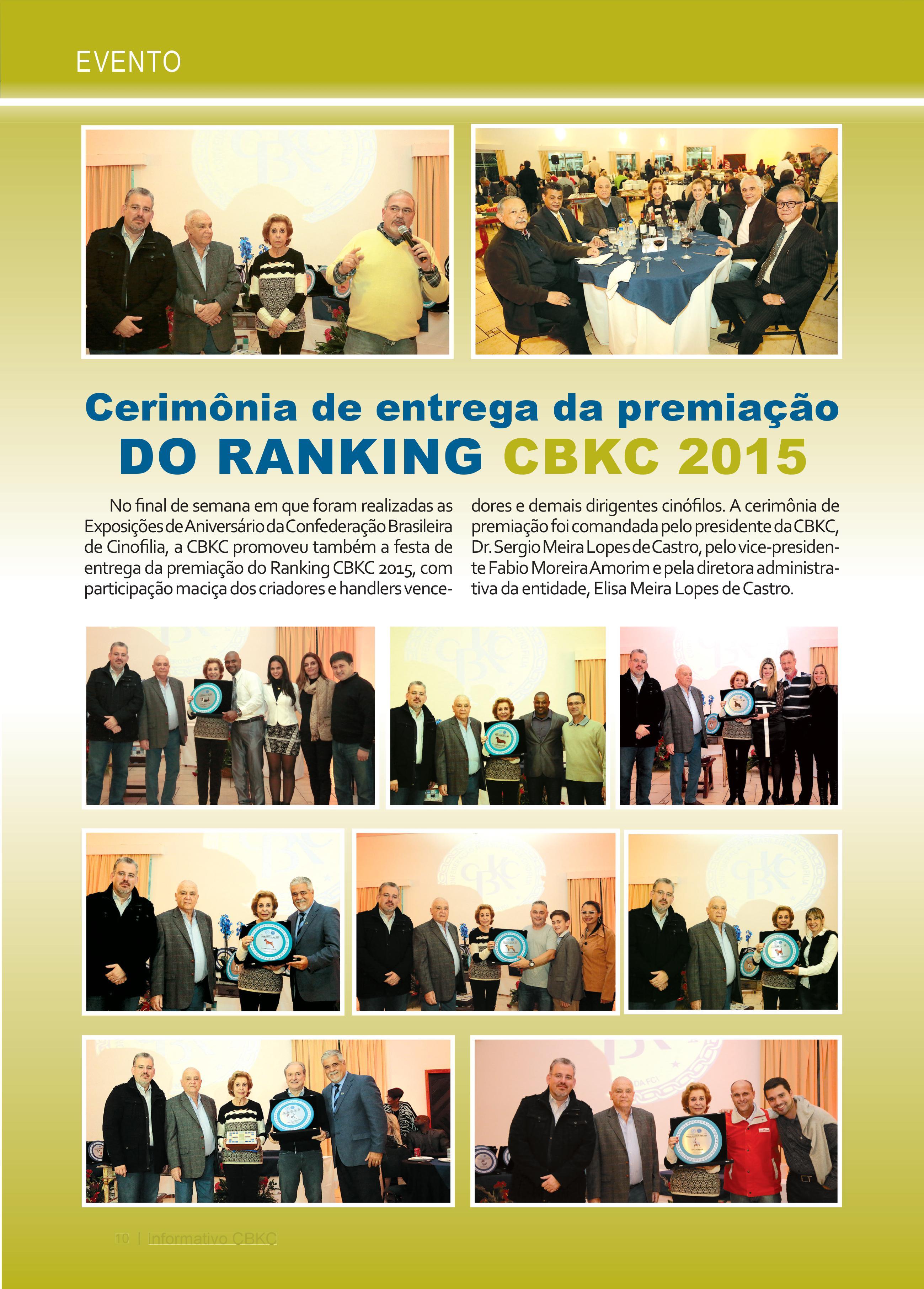 Pagina 10| Edição 52 do Informativo CBKC