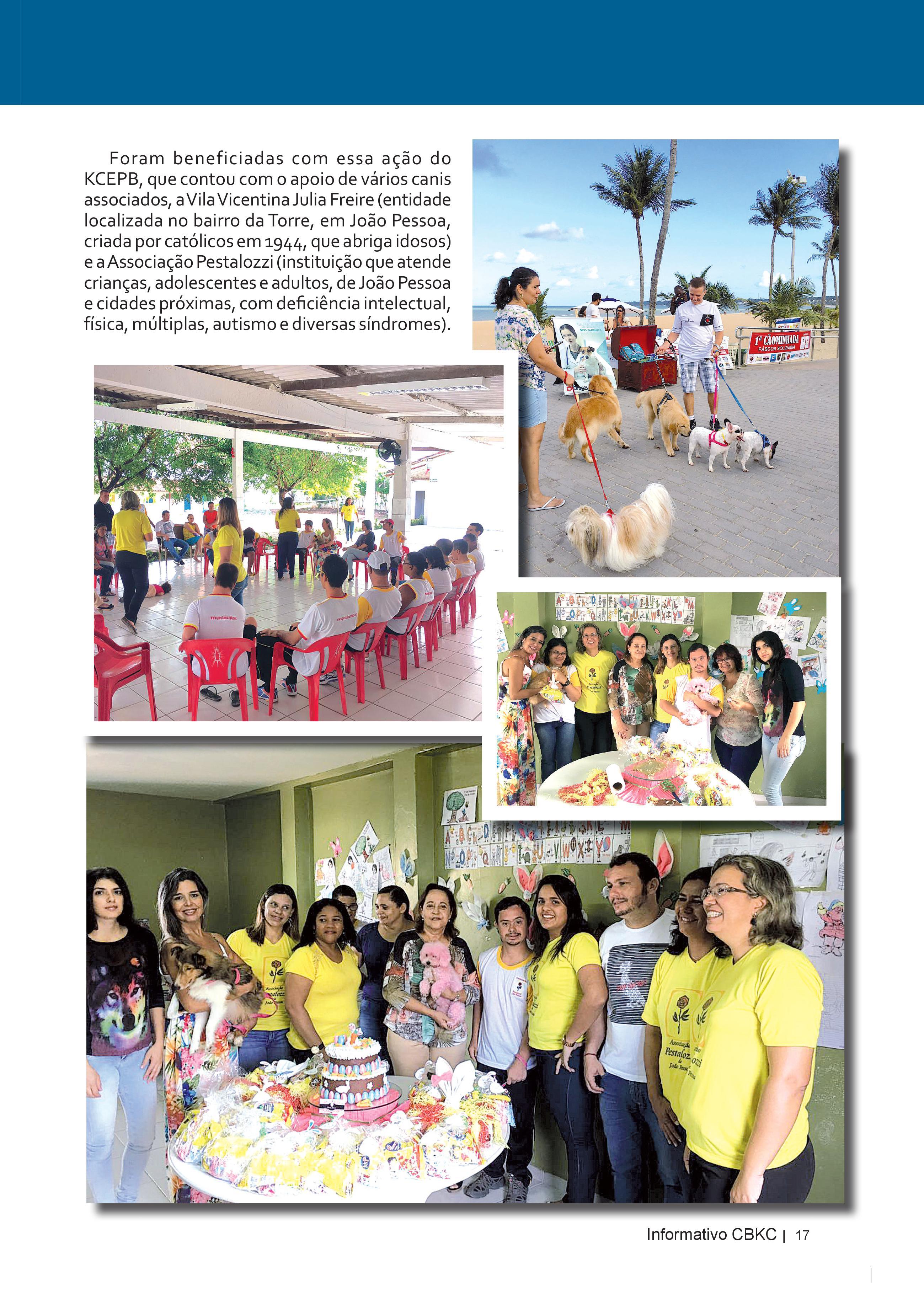 Pagina 17| Edição 52 do Informativo CBKC