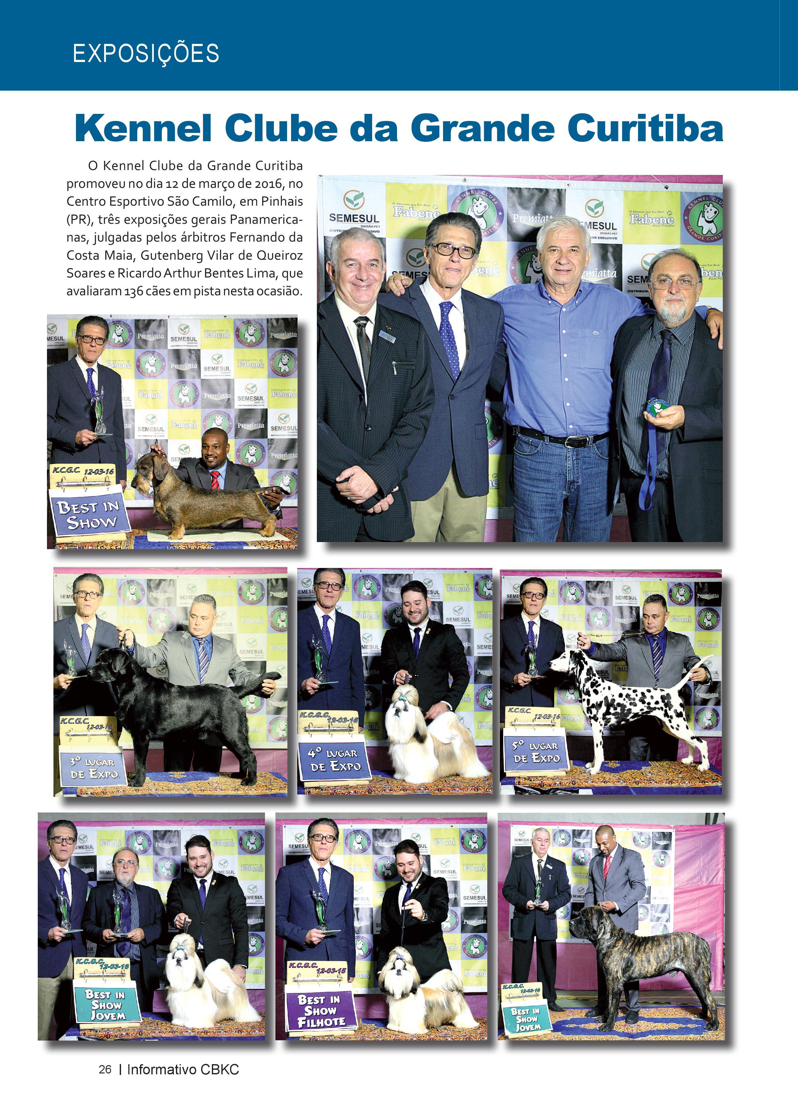 Pagina 26| Edição 52 do Informativo CBKC