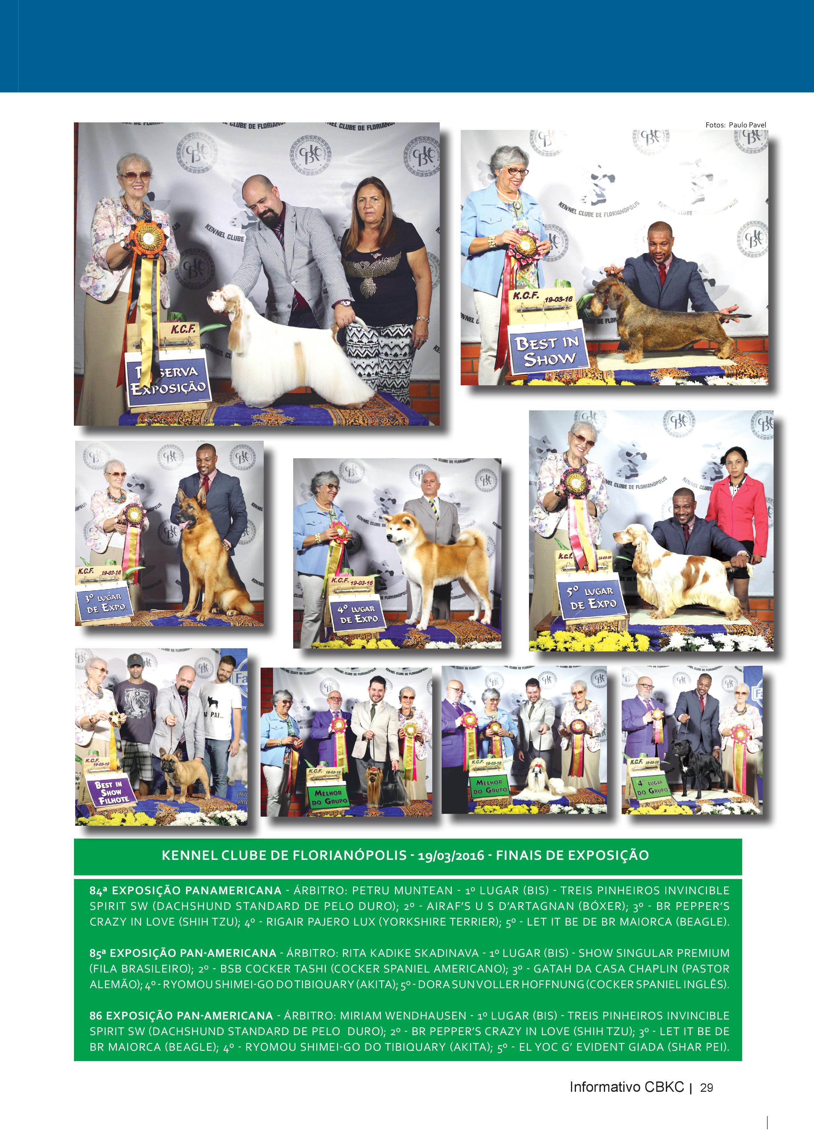 Pagina 29| Edição 52 do Informativo CBKC