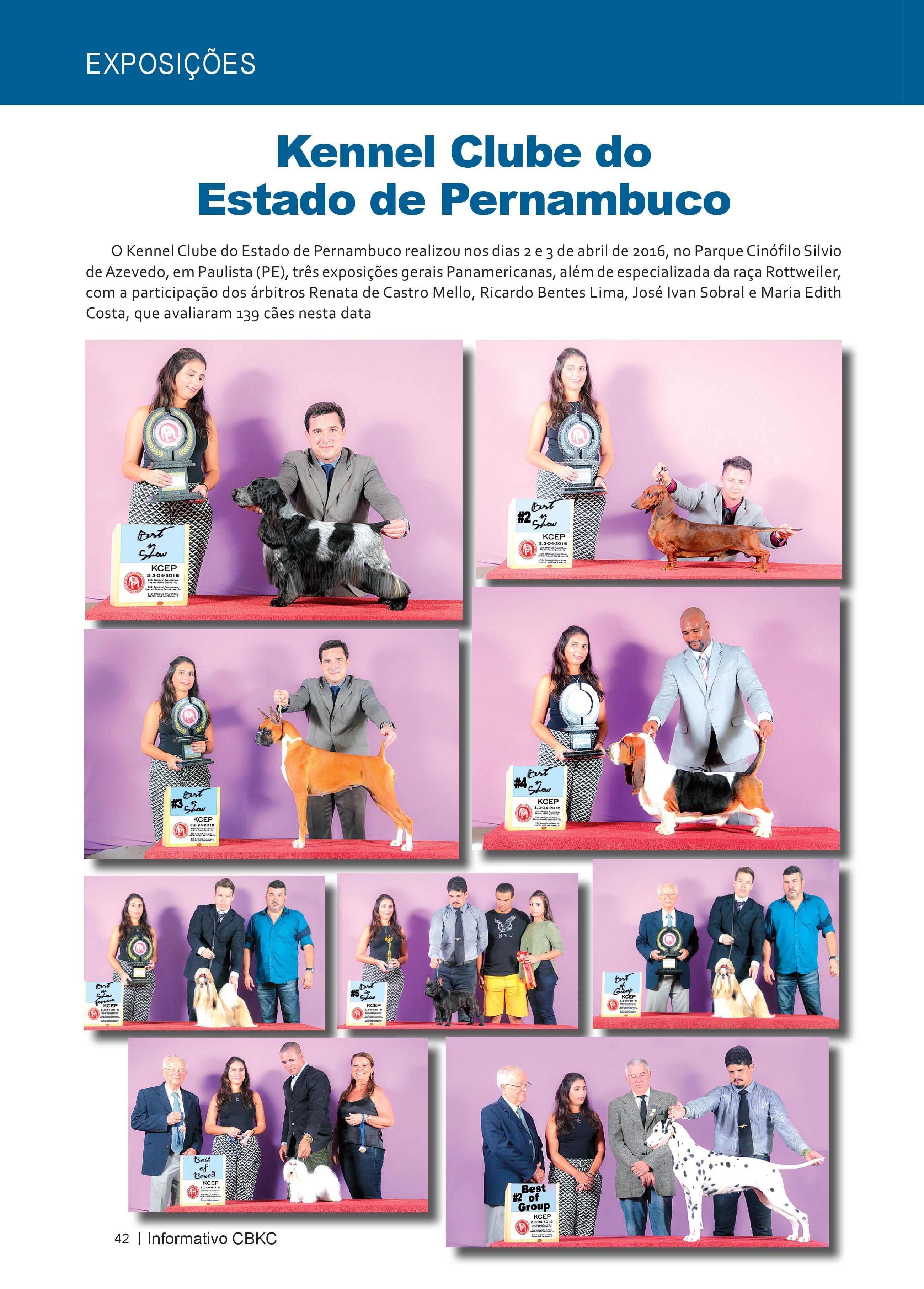 Pagina 42| Edição 52 do Informativo CBKC