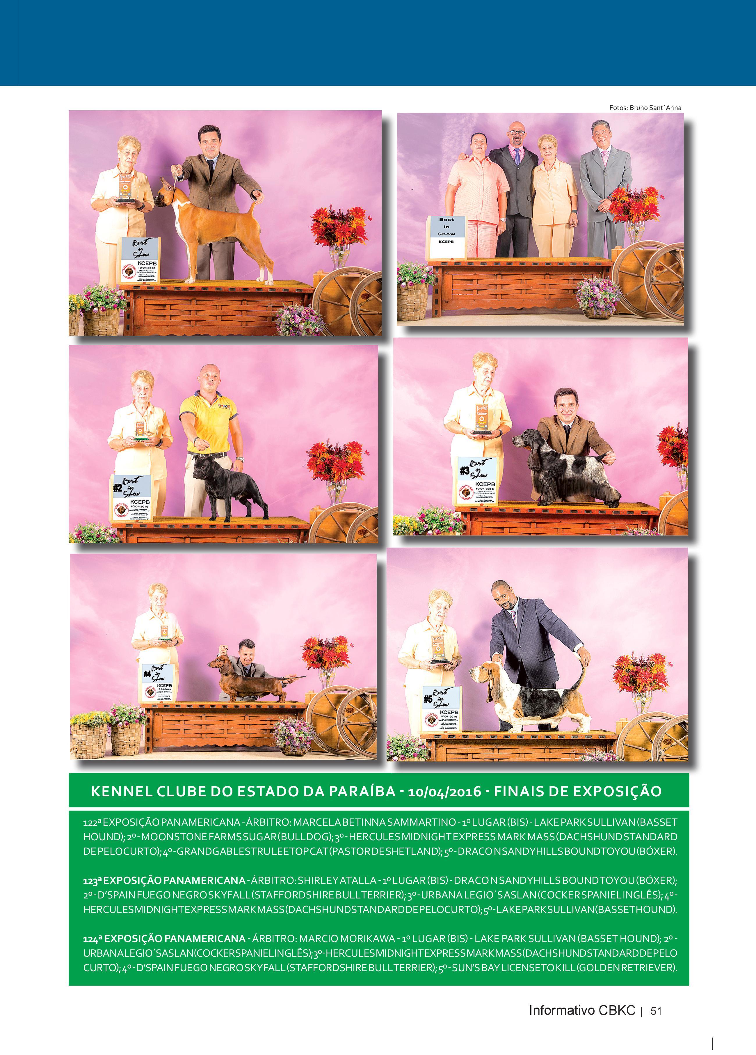 Pagina 51| Edição 52 do Informativo CBKC