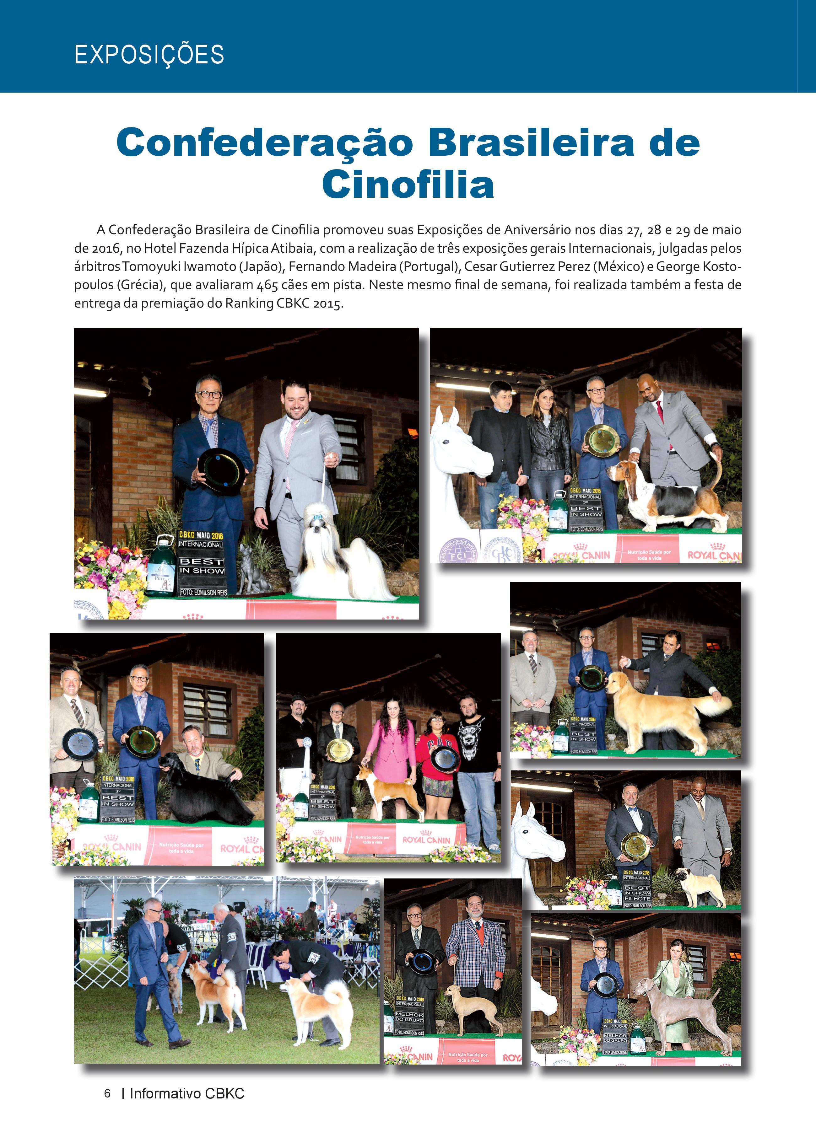 Pagina 6| Edição 52 do Informativo CBKC