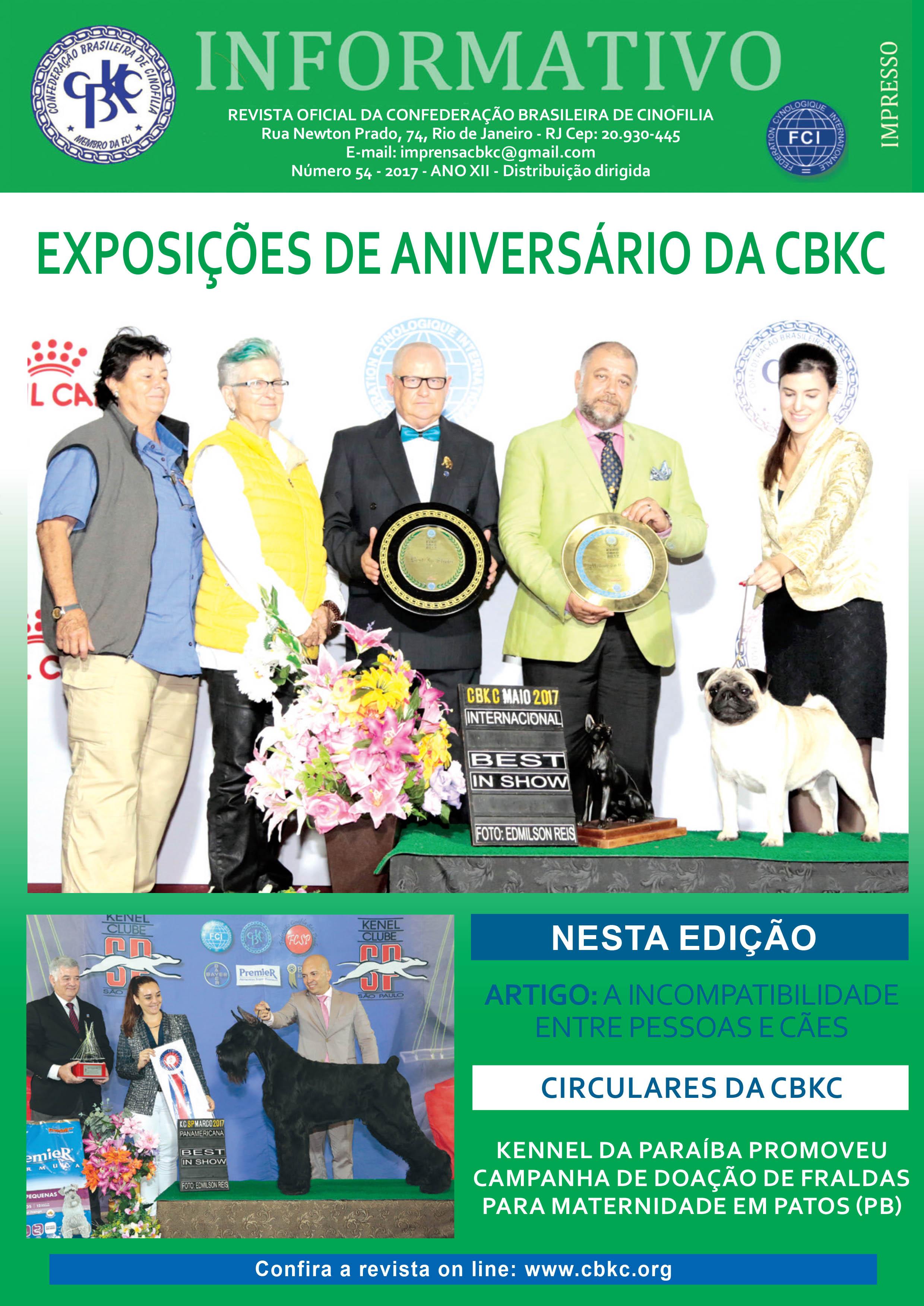 Informativo CBKC Edição 54