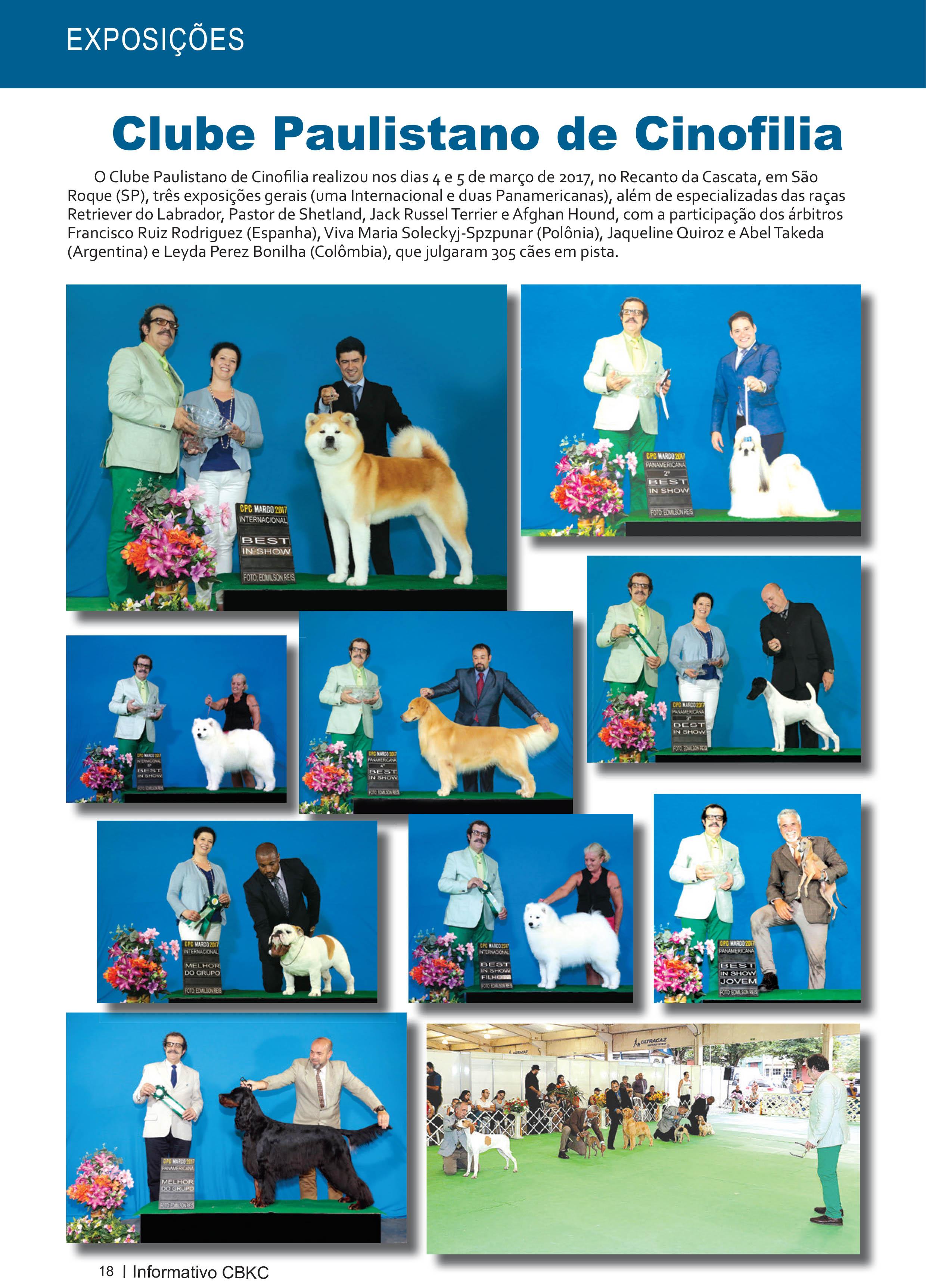 Pagina 18| Edição 54 do Informativo CBKC