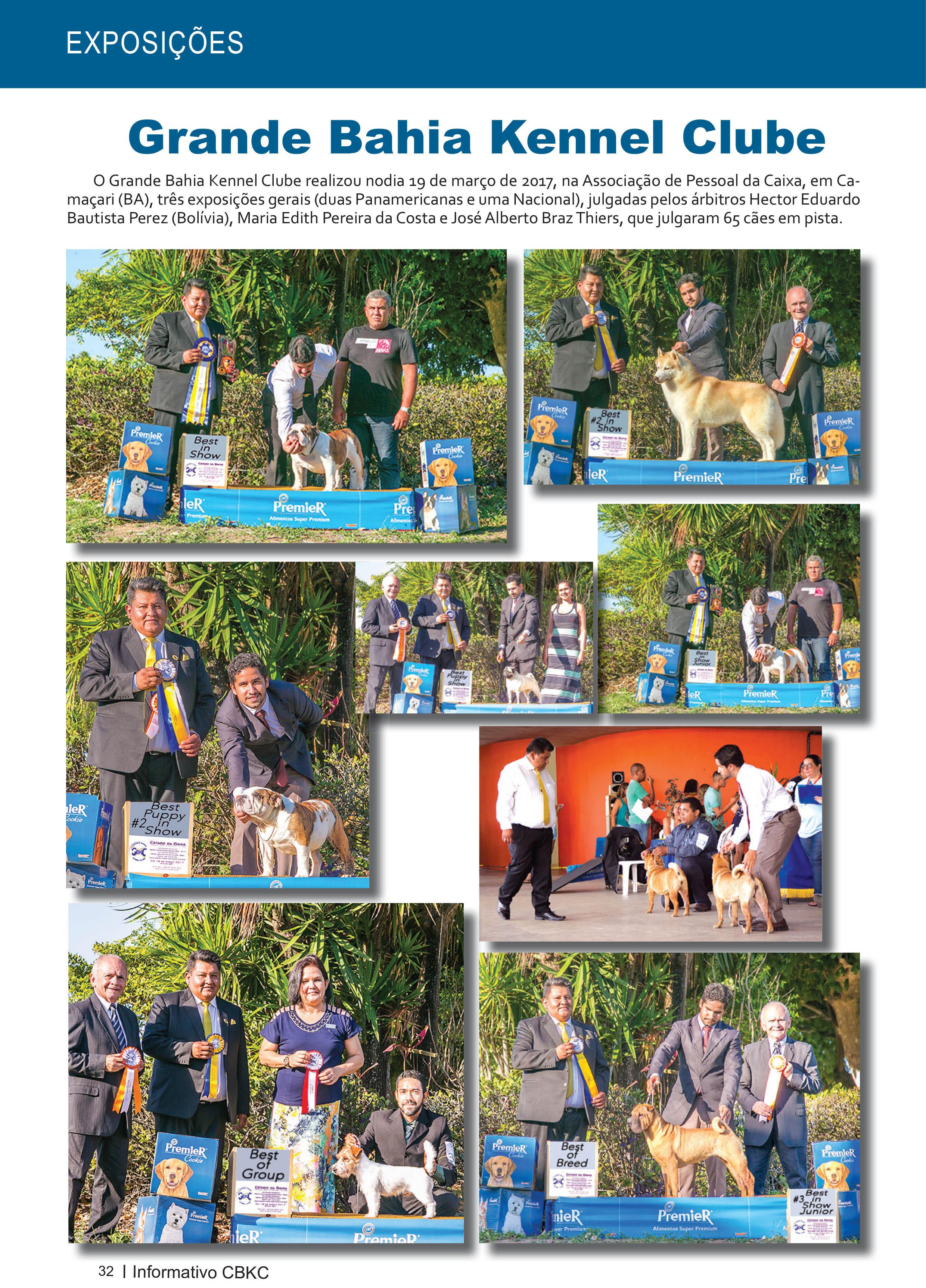 Pagina 32| Edição 54 do Informativo CBKC