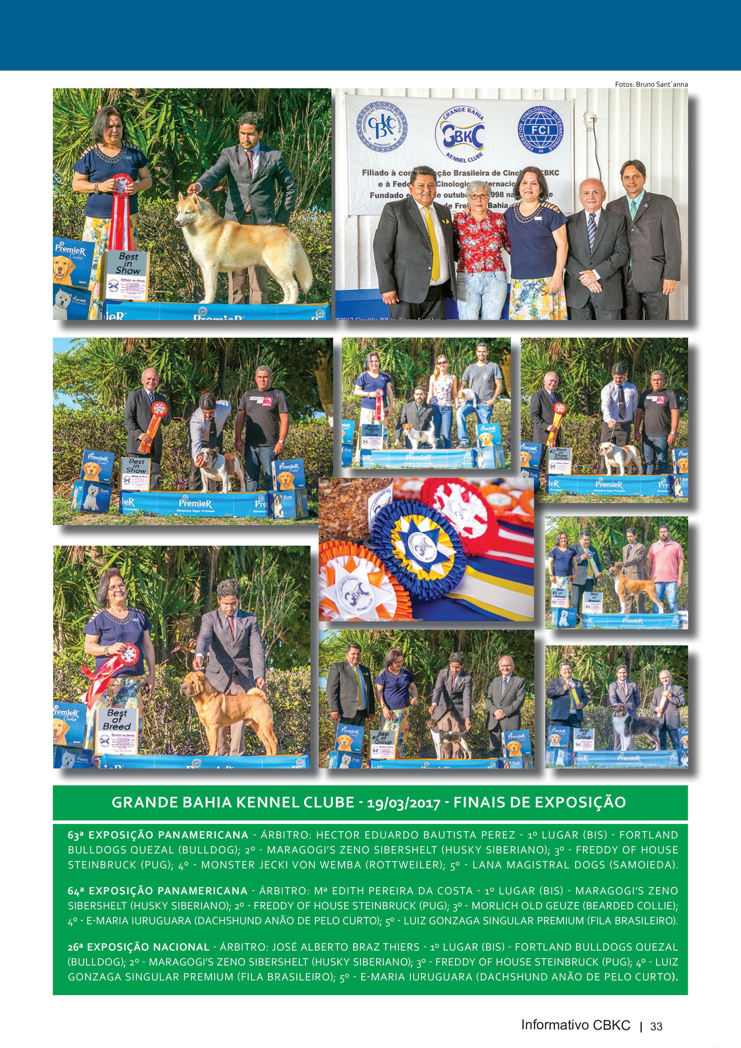 Pagina 33| Edição 54 do Informativo CBKC