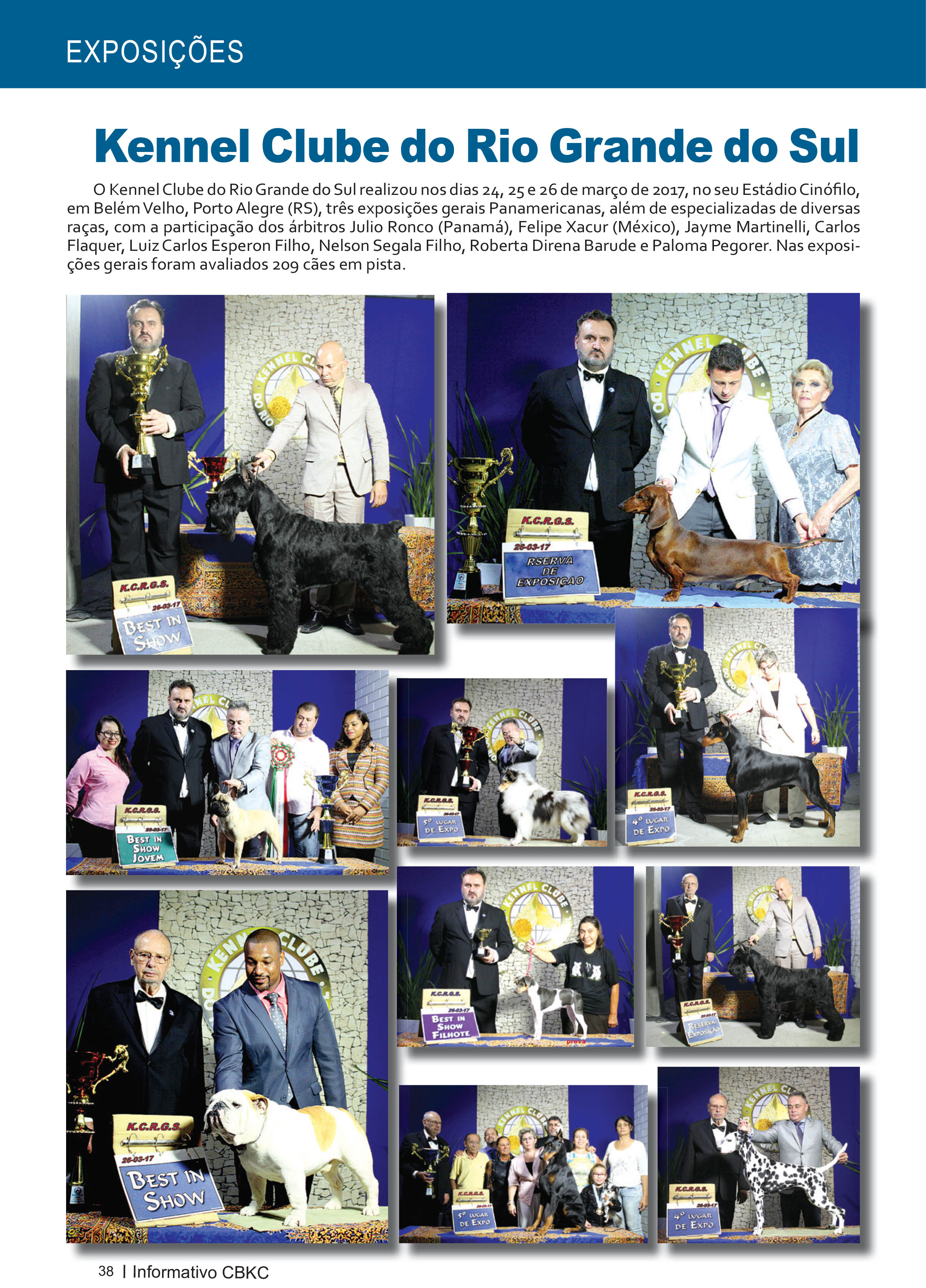 Pagina 38| Edição 54 do Informativo CBKC