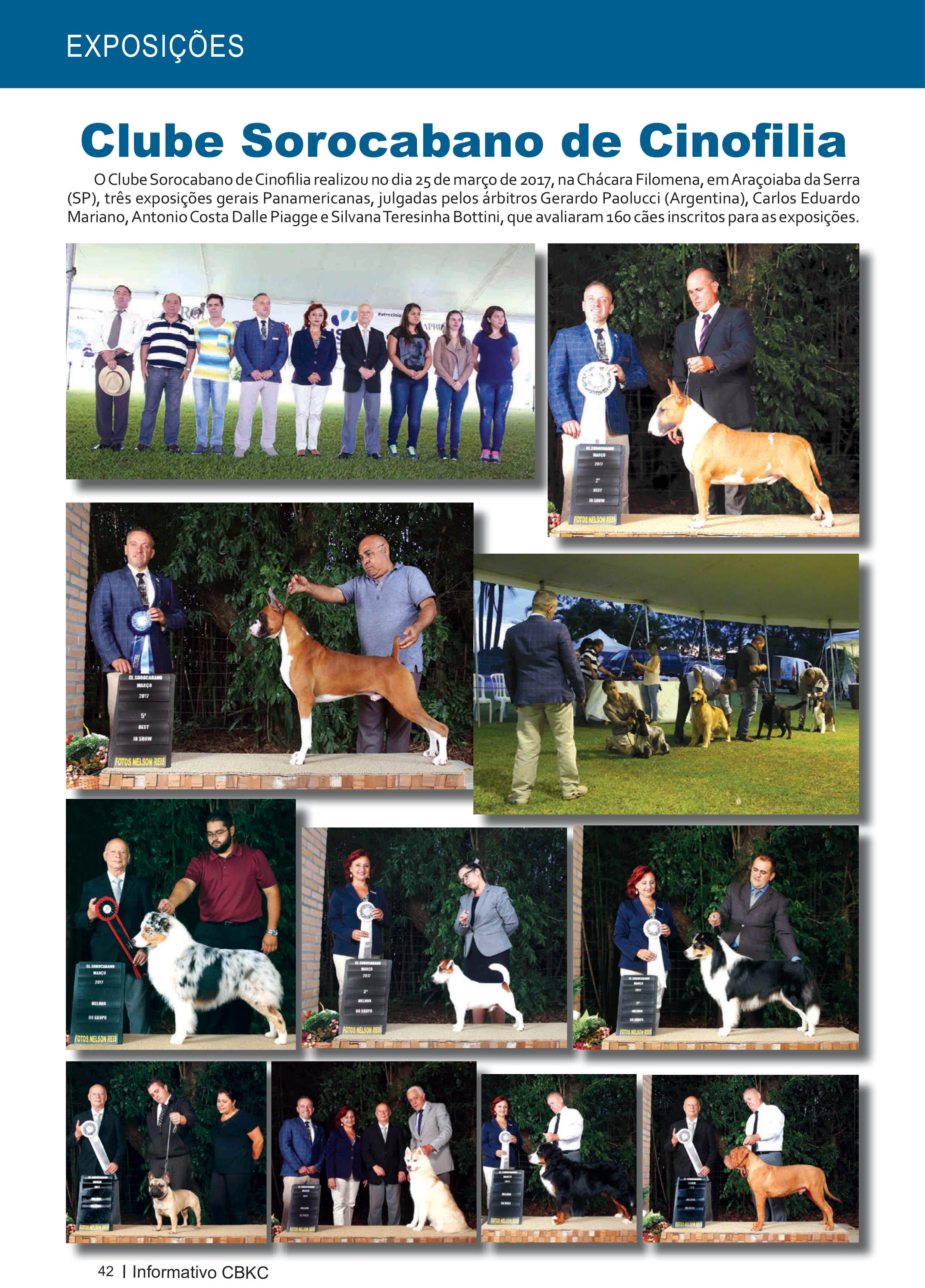 Pagina 42| Edição 54 do Informativo CBKC