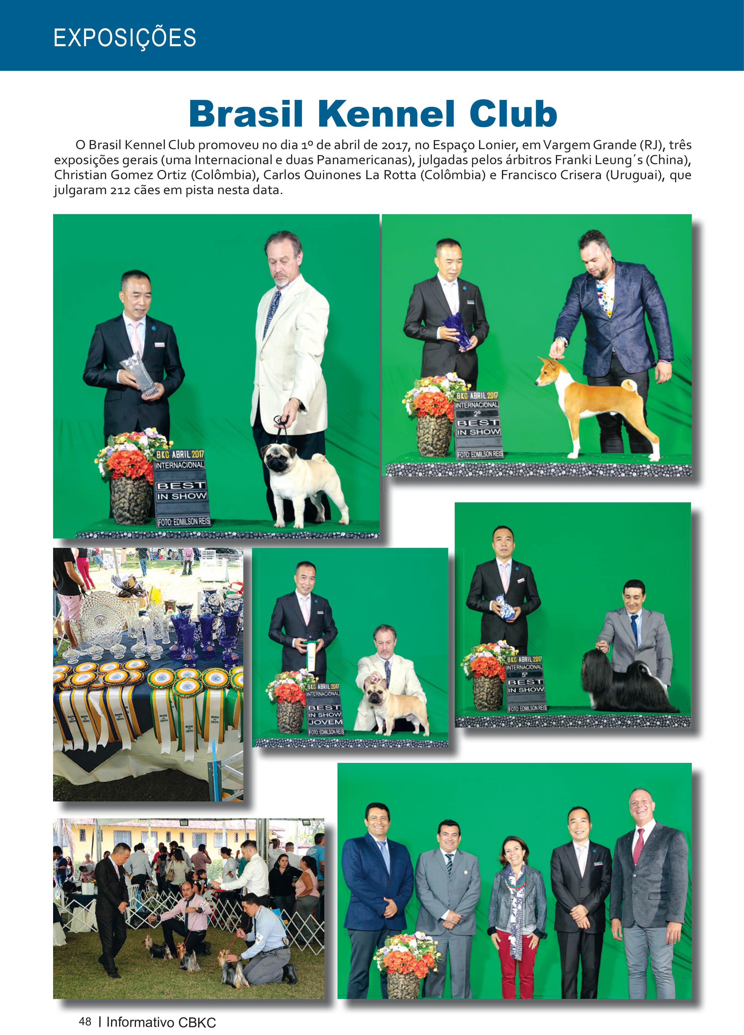 Pagina 48| Edição 54 do Informativo CBKC