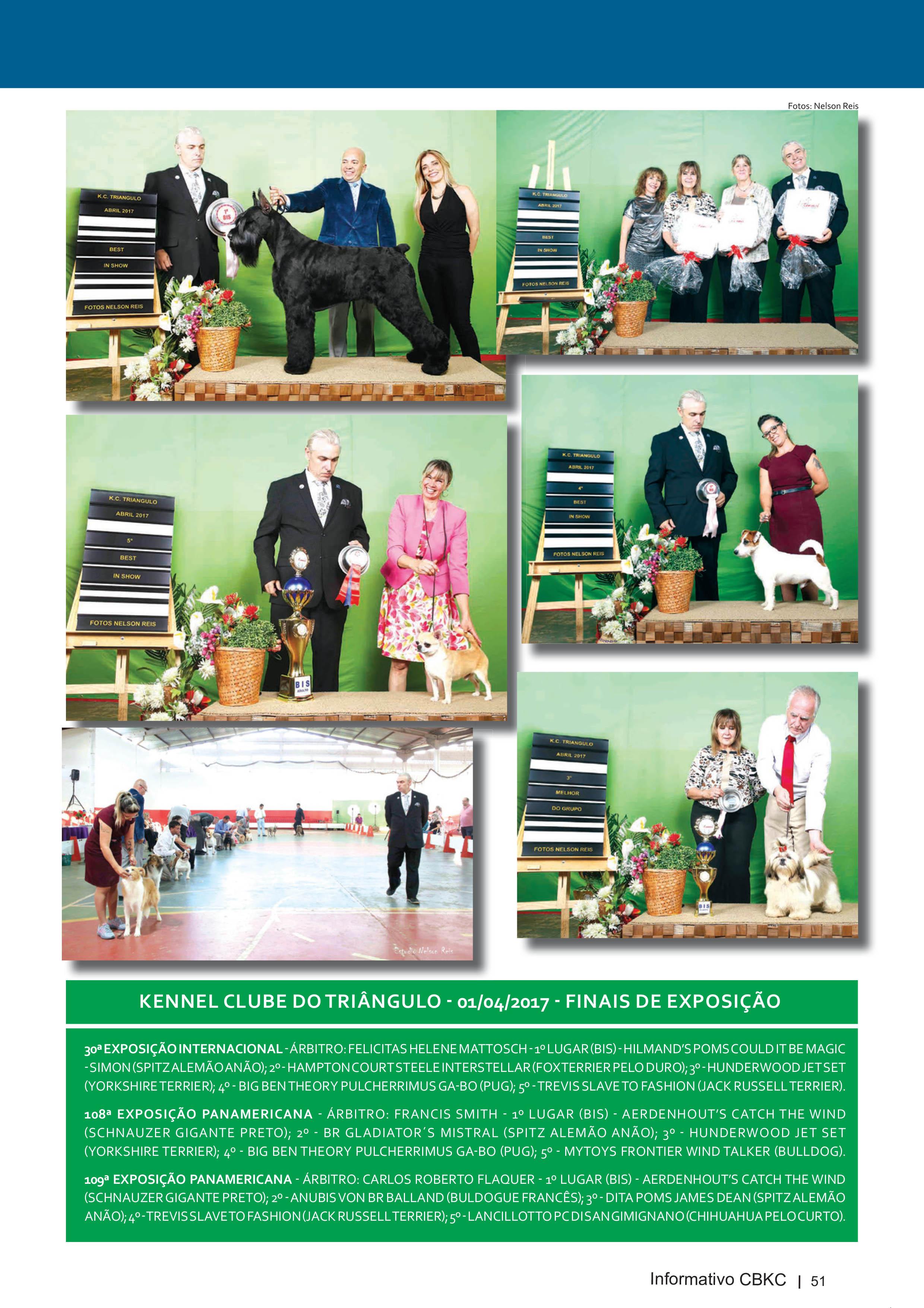 Pagina 51| Edição 54 do Informativo CBKC